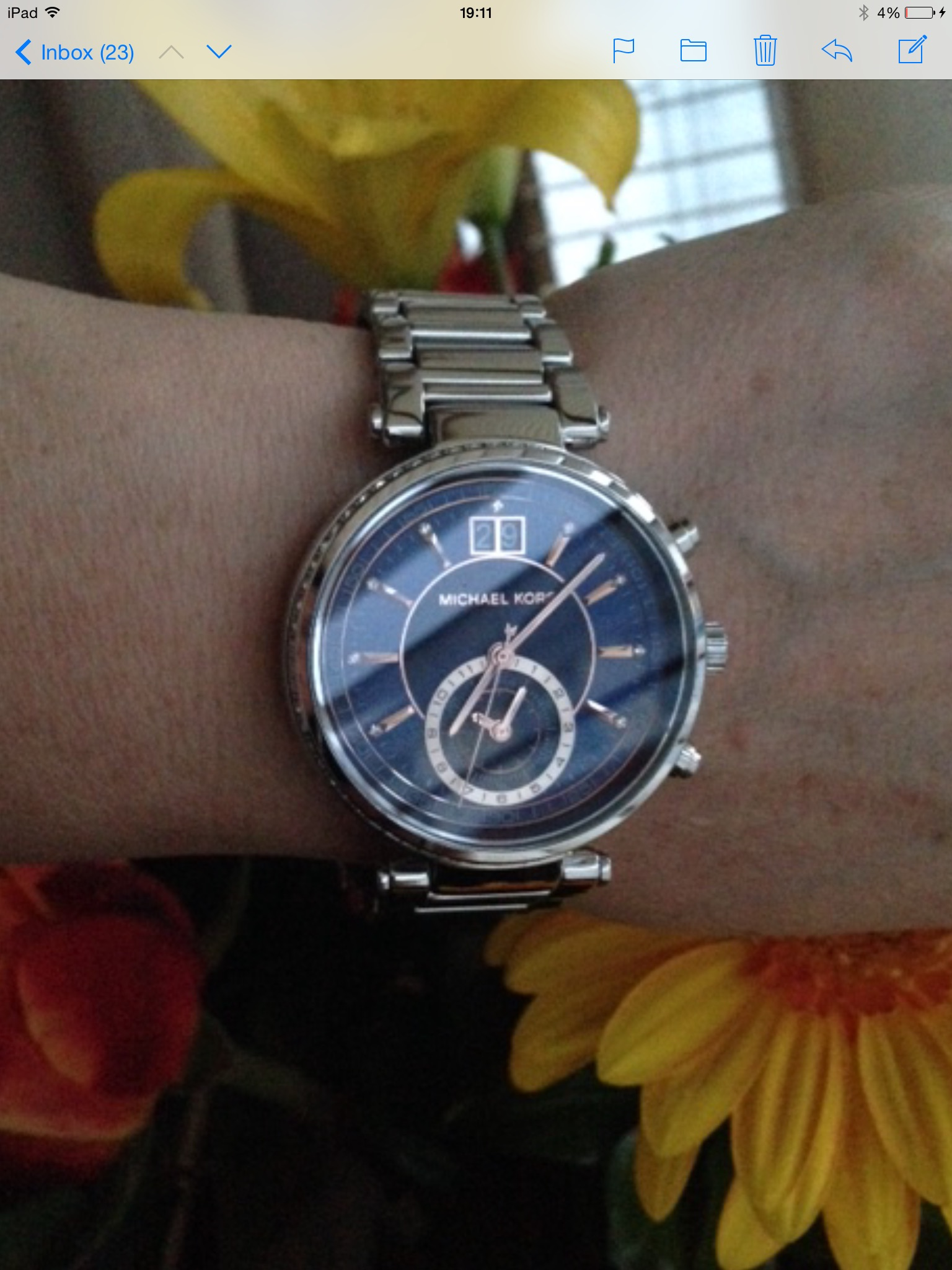 367aa66fa920 Ladies Michael Kors Sawyer Chronograph Watch (MK6224)