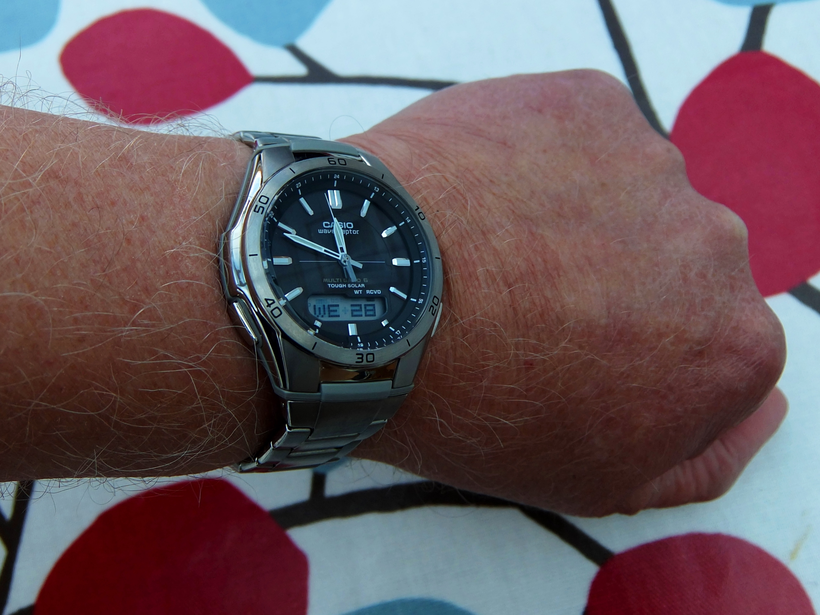 This Casio really is a bit special. Unlike many modern watches with a  comprehensive range of functions, its not over sized, its very light,  comfortable and ...