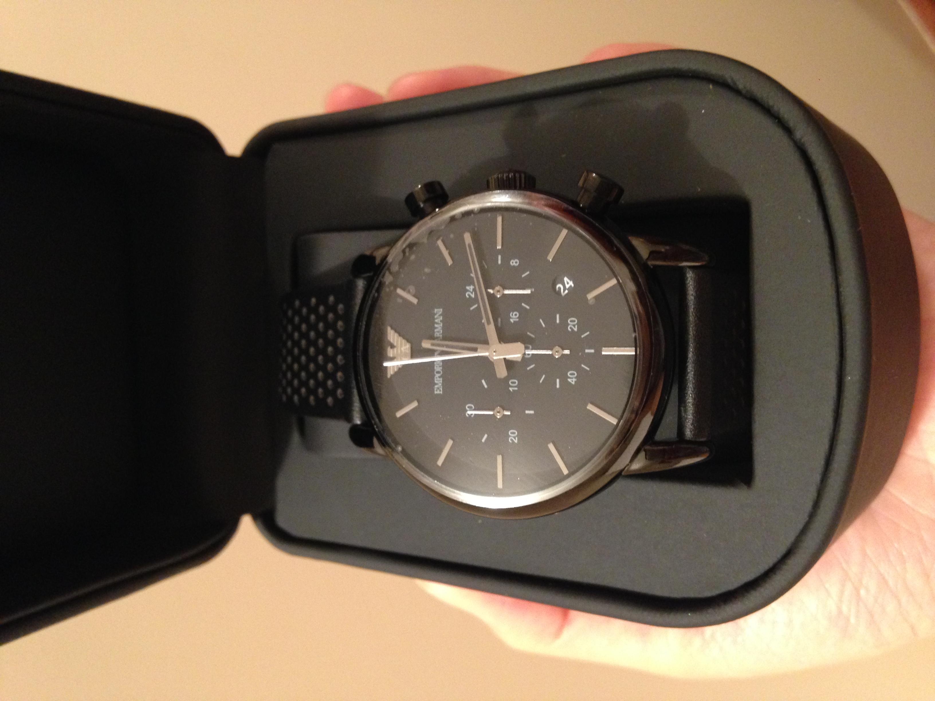 abc9ffbddee Gents Emporio Armani Chronograph Watch (AR1737)