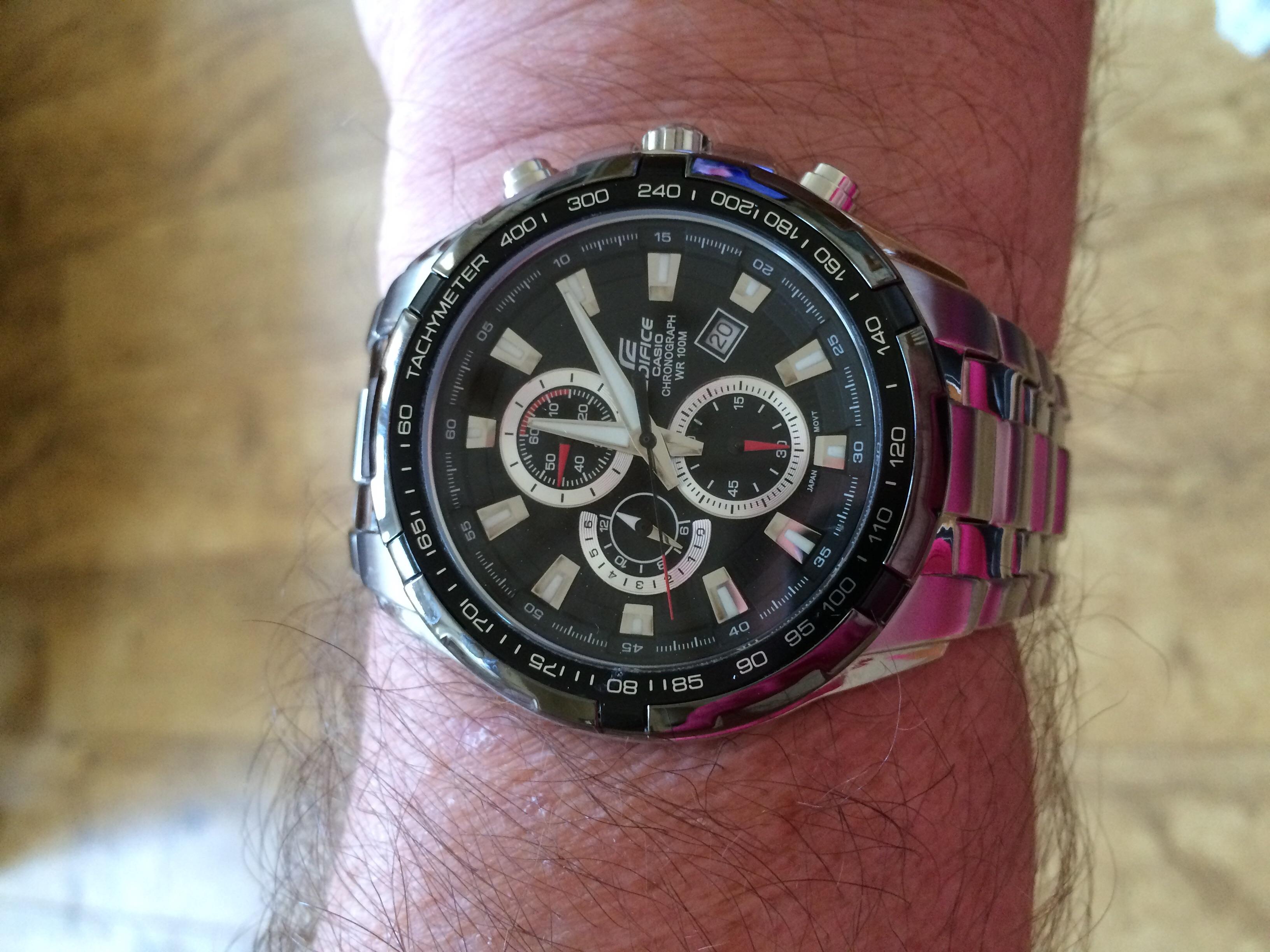 Reloj Edifice 1avef N Casio 539d Ef gv7Y6fby