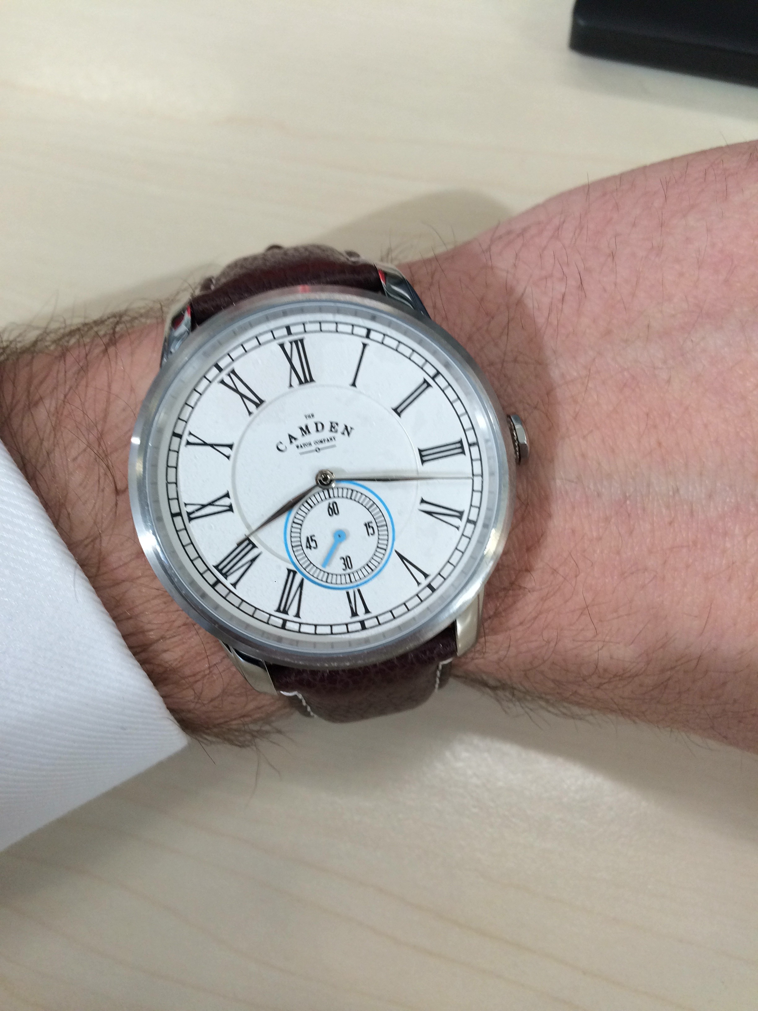 84f8f93d6 I just bought the Camden No. 29 for myself and I absolutely love it! The  classic look with clean and simplistic roman numerals combined with the  coloured ...