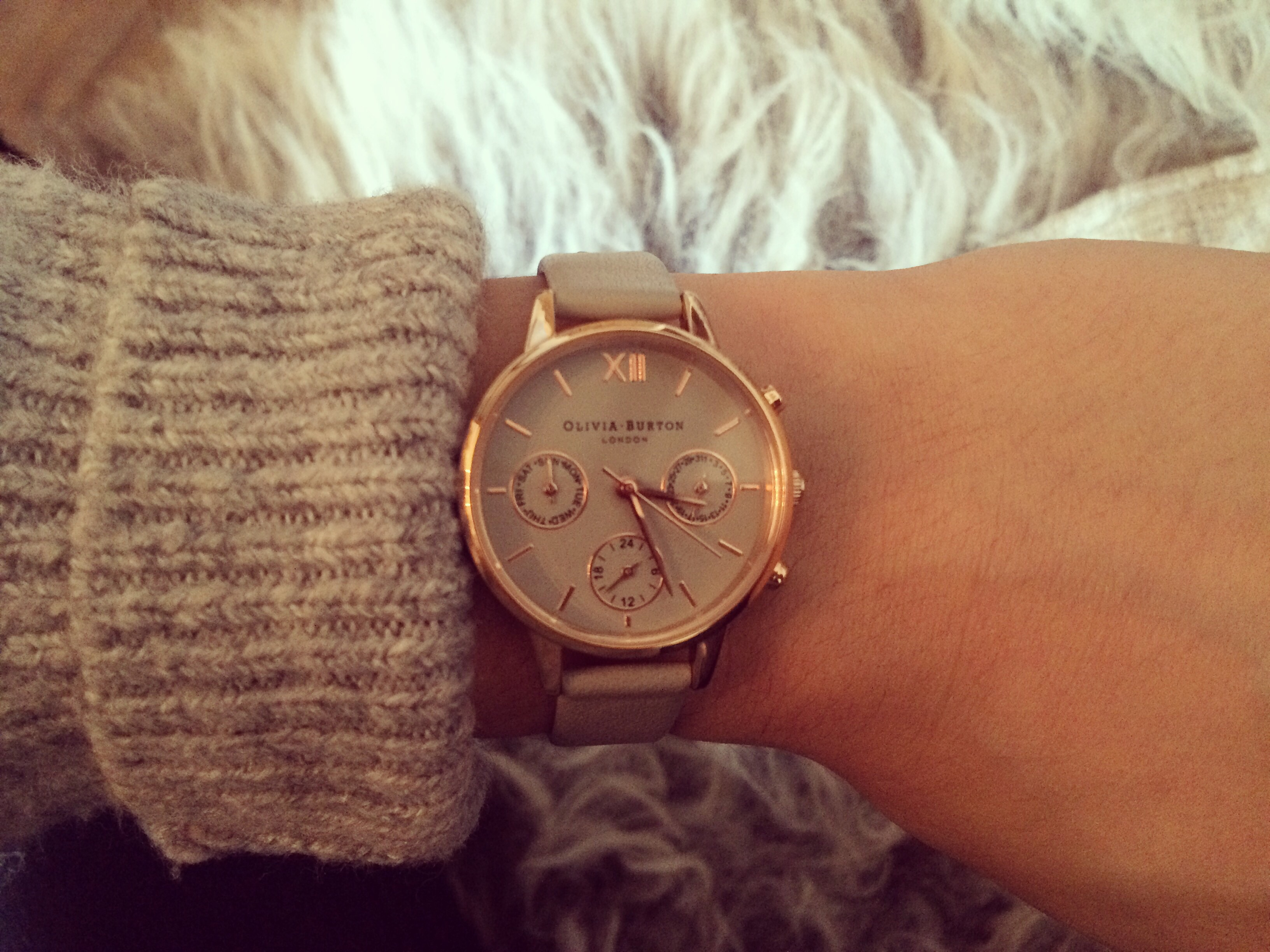 Ive purchased a few Olivia Burton watches but hands down this is an  absolute favourite of mine. The rose gold and grey compliment each other  beautifully and ... ce0fe50e1