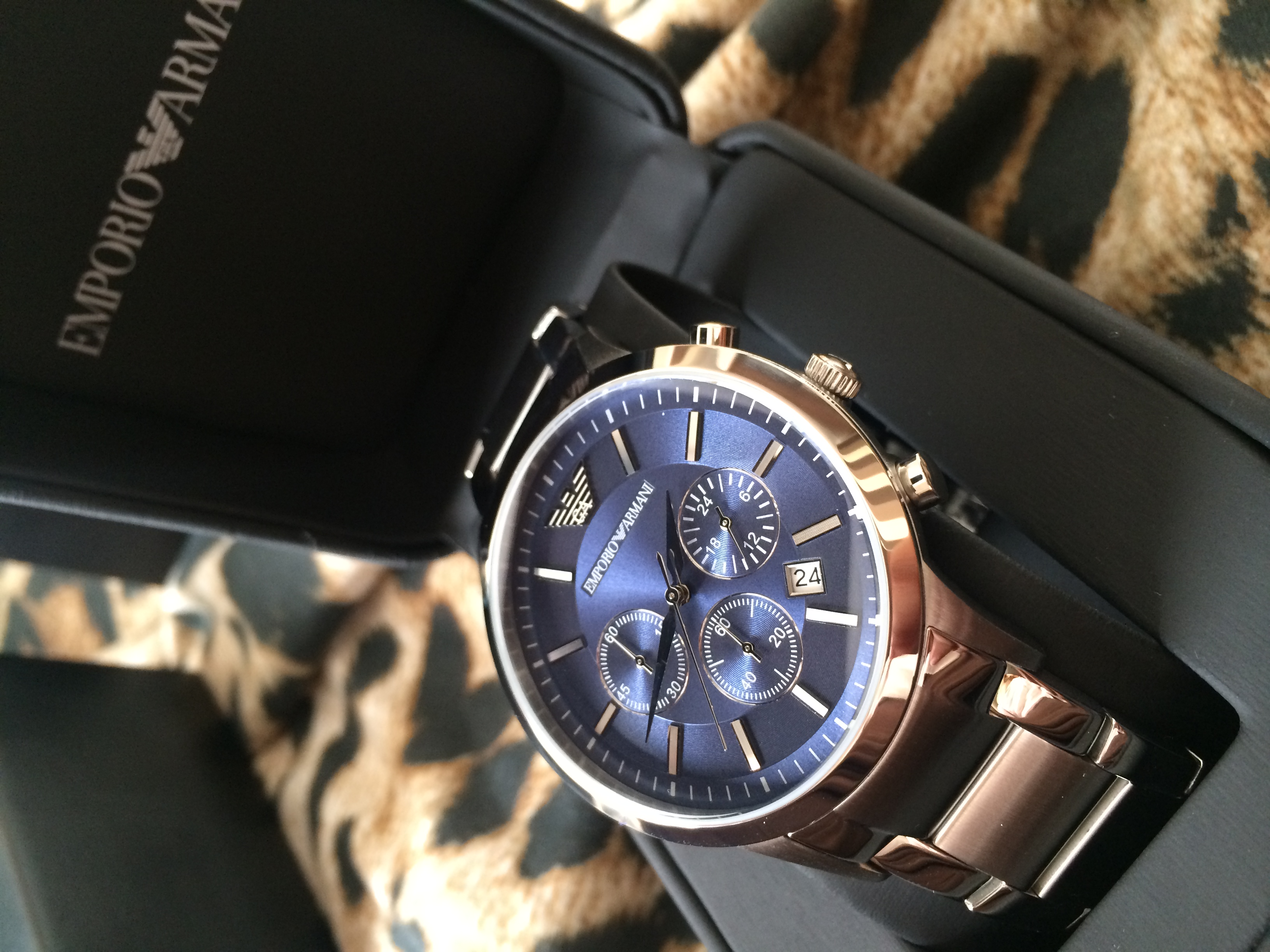1085ce3a543 Gents Emporio Armani Chronograph Watch (AR2448)