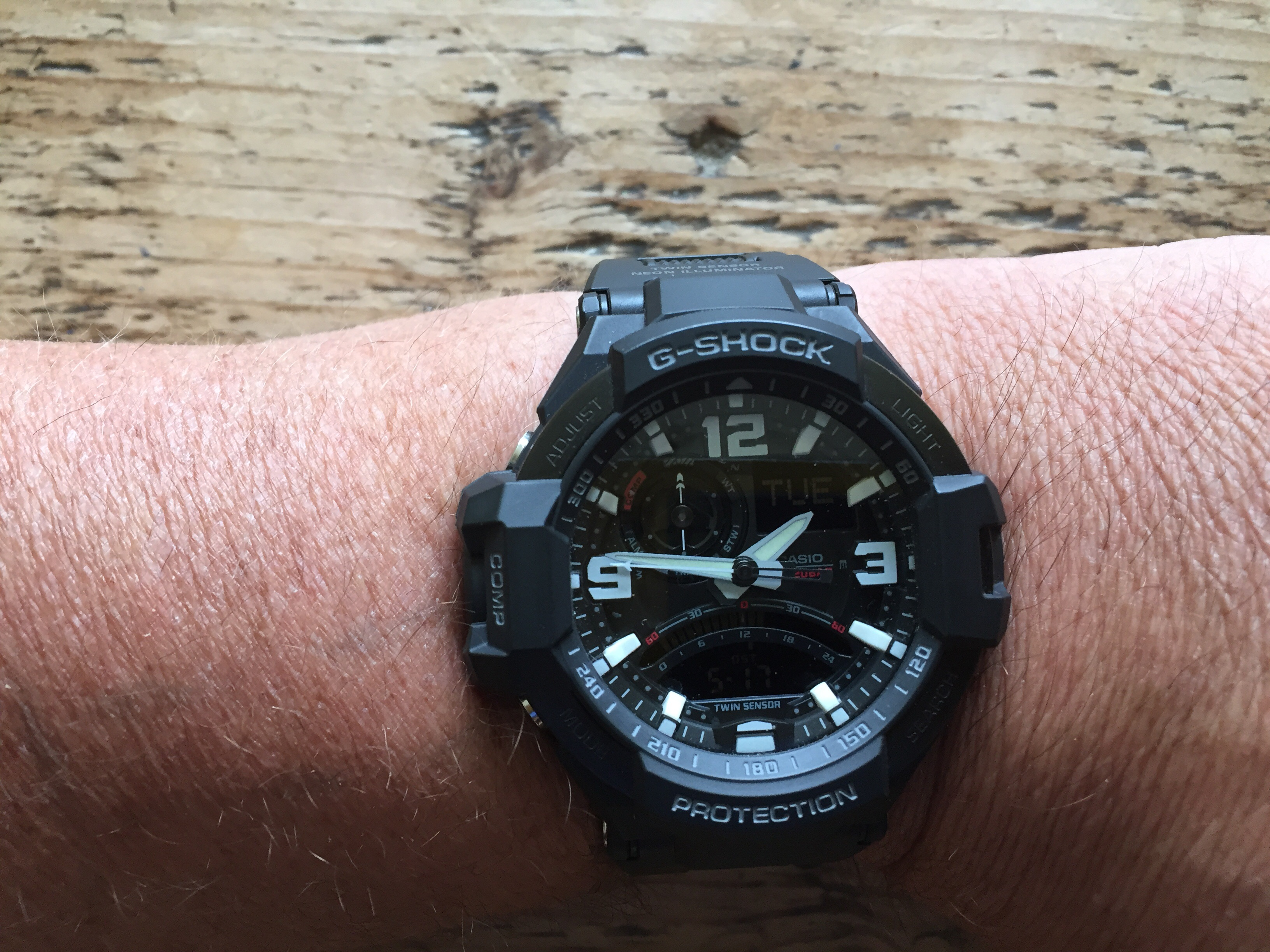 1f5962b2e5a2 This is a upgrade from a cheaper g shock and well worth the extra money!  Great watch plus great service from watch shop at a price couldnt find any  ...