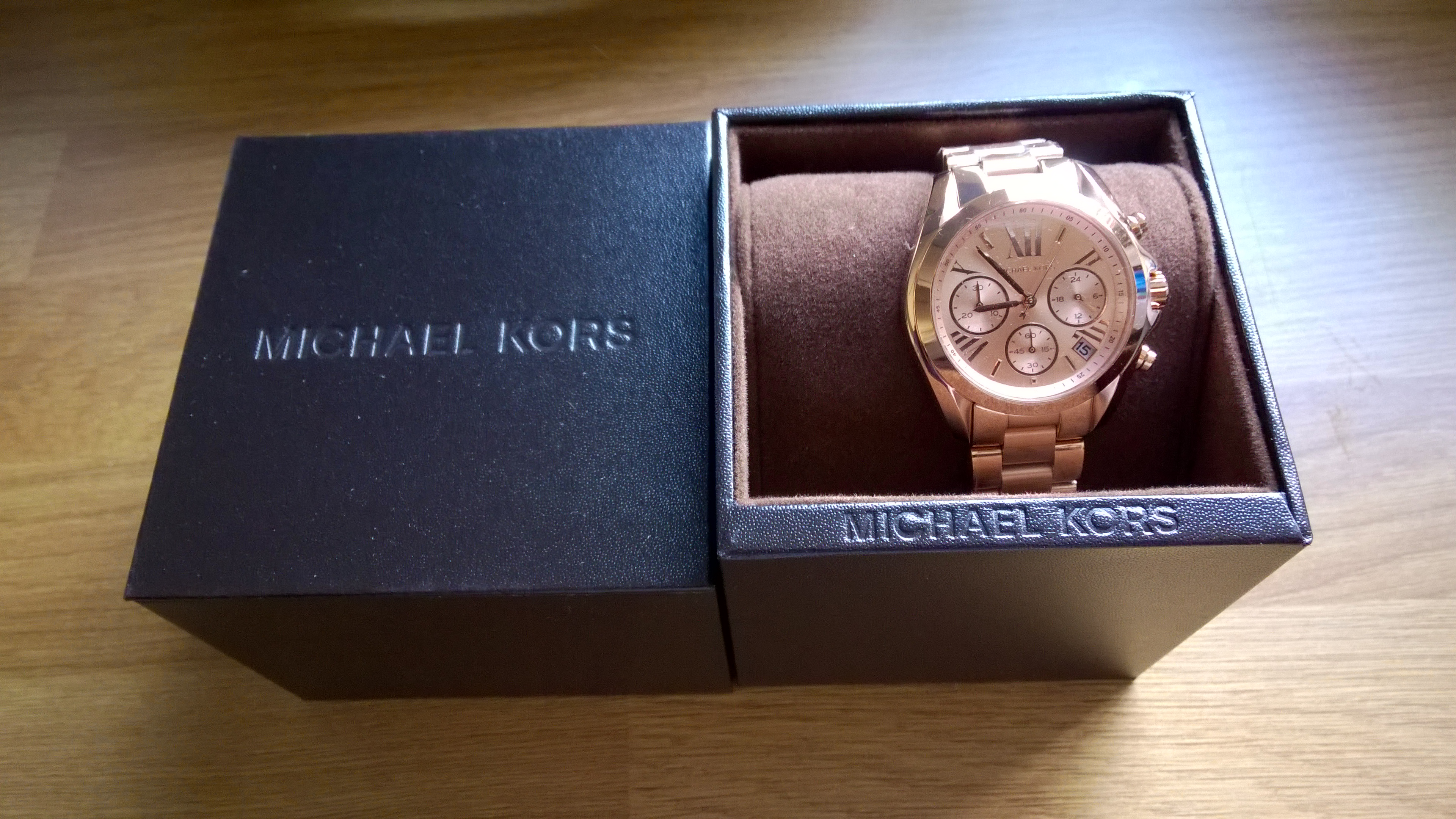 5b3bcca92824 Ladies Michael Kors Bradshaw Mini Chronograph Watch (MK5799 ...