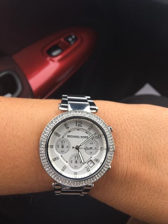 72794981b4f7 Ladies Michael Kors Parker Chronograph Watch (MK5353)