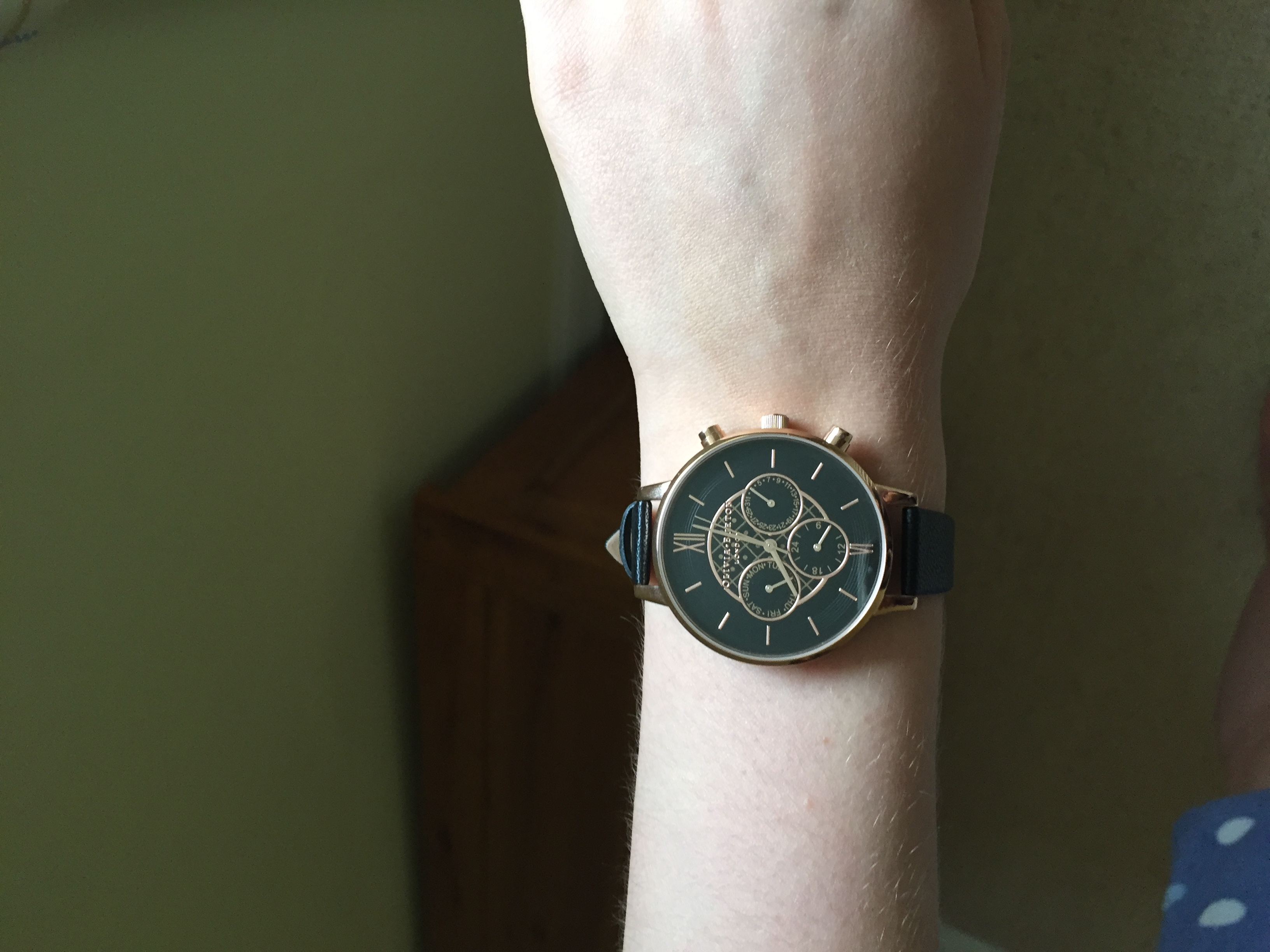 8f65eb443 My daughter asked for an Olivia Burton watch for her eighteenth birthday. I  ordered five watches for her to try on and she was to choose one ...