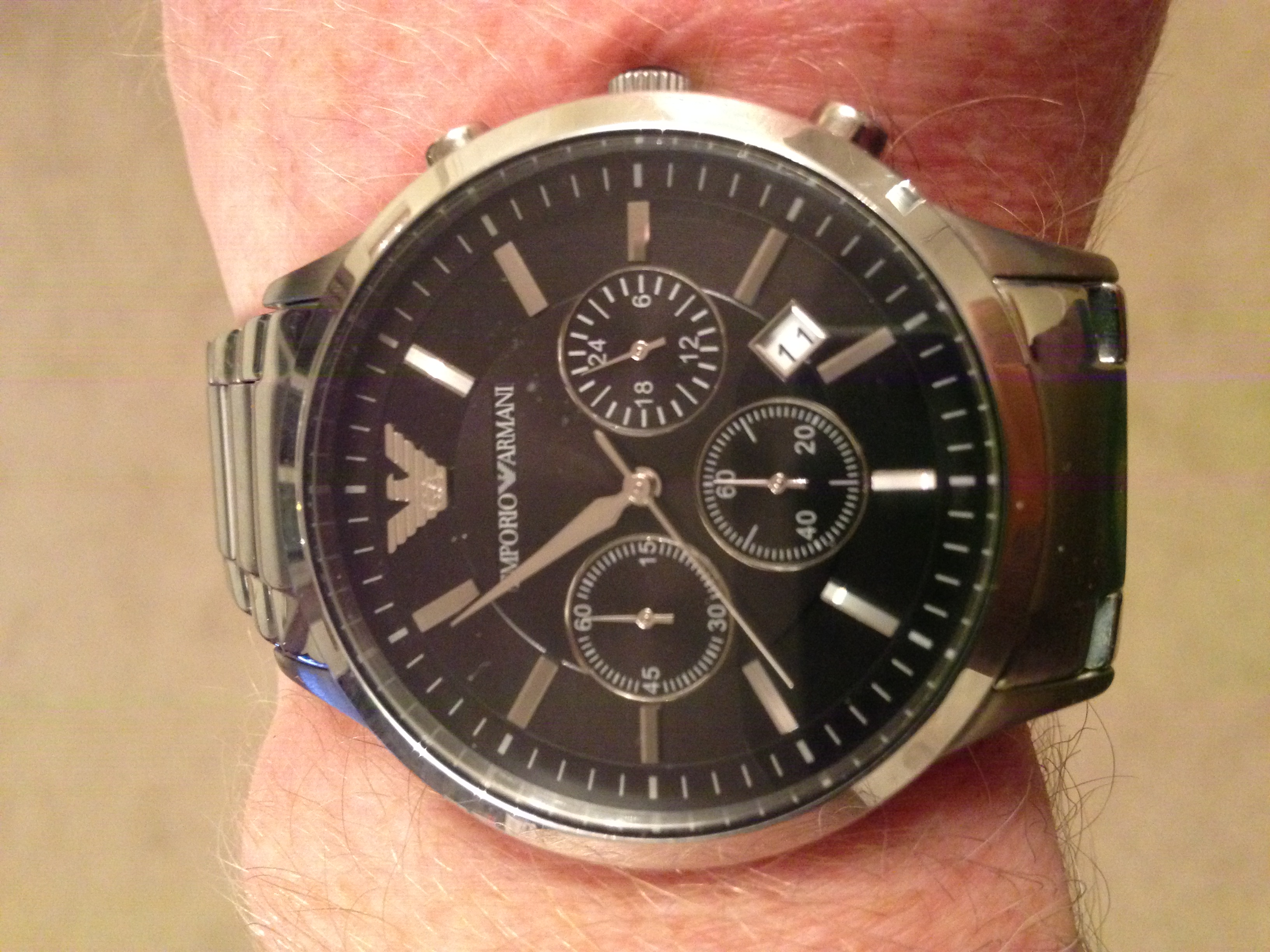 Gents Emporio Armani Chronograph Watch (AR2434)  da89e0704