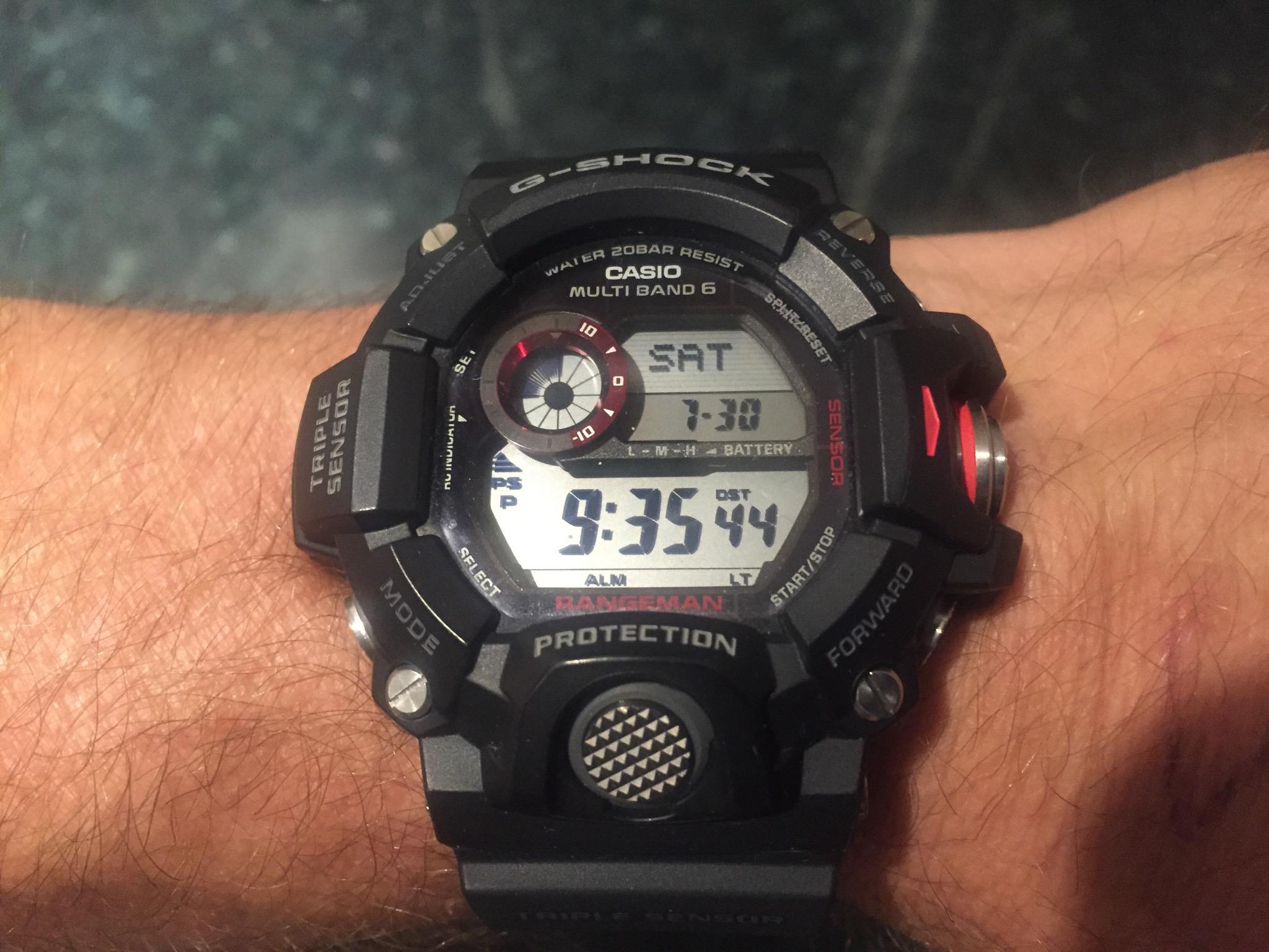 Gents Casio G-Shock Rangeman Alarm Chronograph Watch (GW-9400-1ER ... 4539f7f0b