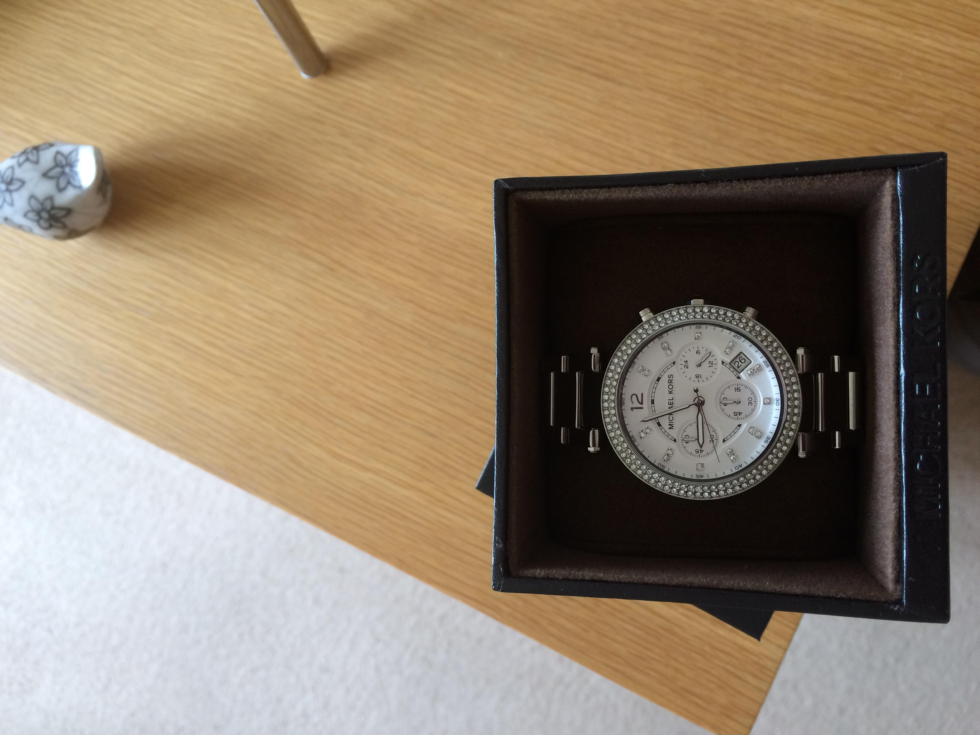 7b7afeab25de Ladies Michael Kors Parker Chronograph Watch (MK5353)