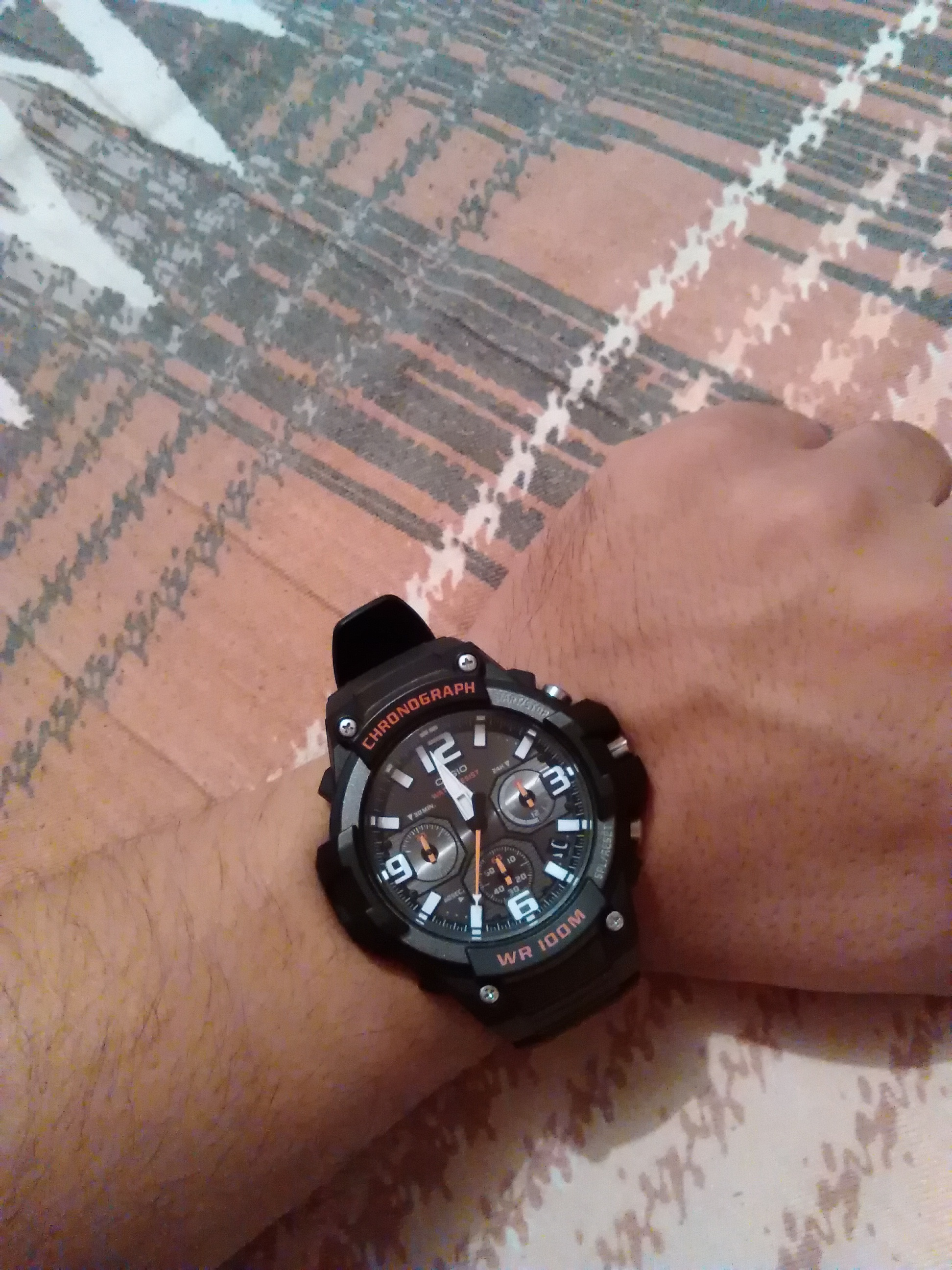 d79d810a209 Gents Casio Sport Chronograph Watch (MCW-100H-1AVEF)