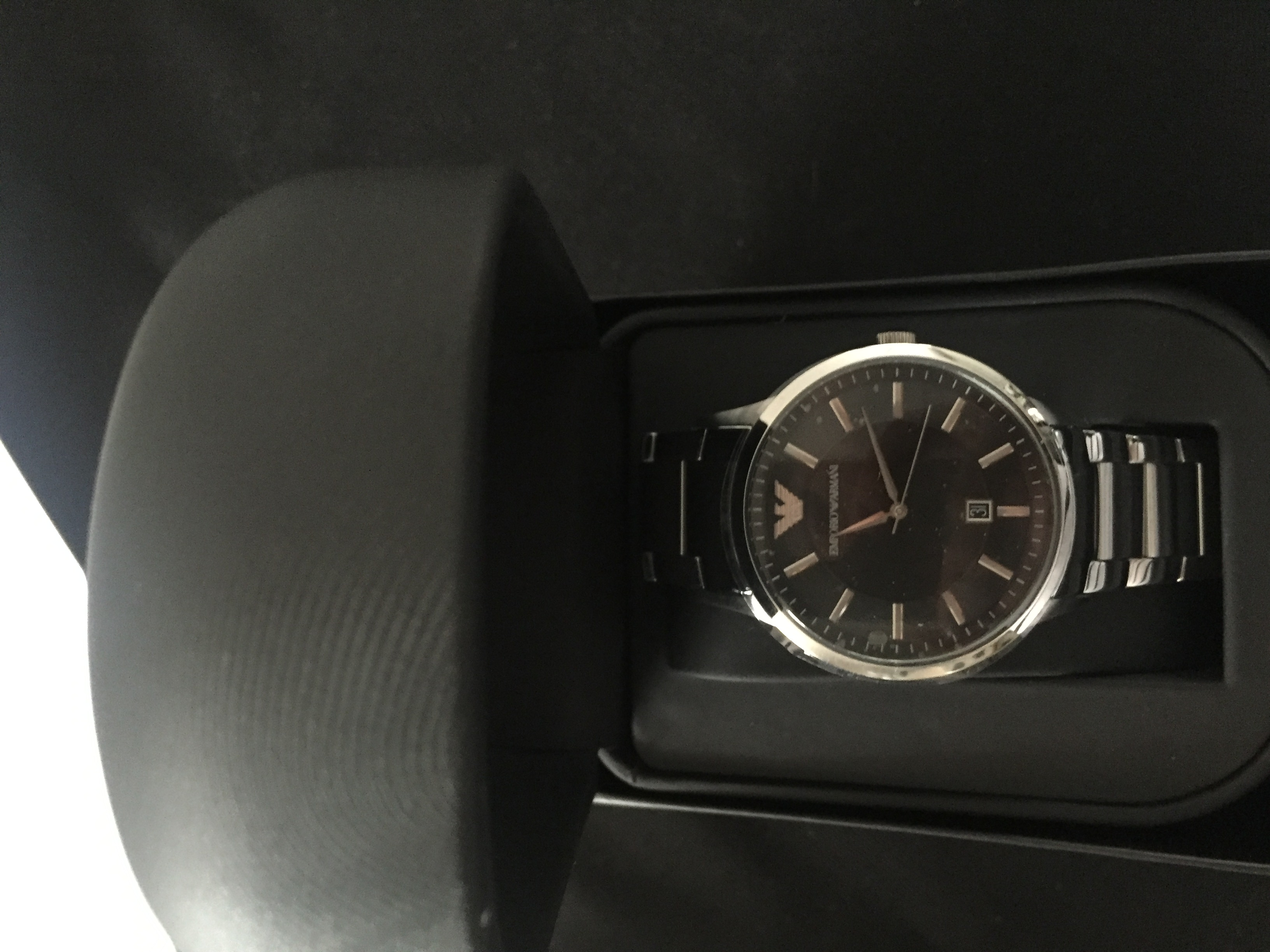 d1508c129be my purchase of my Armani watch was amazing it came the next day and i  brought it for my partners birthday present
