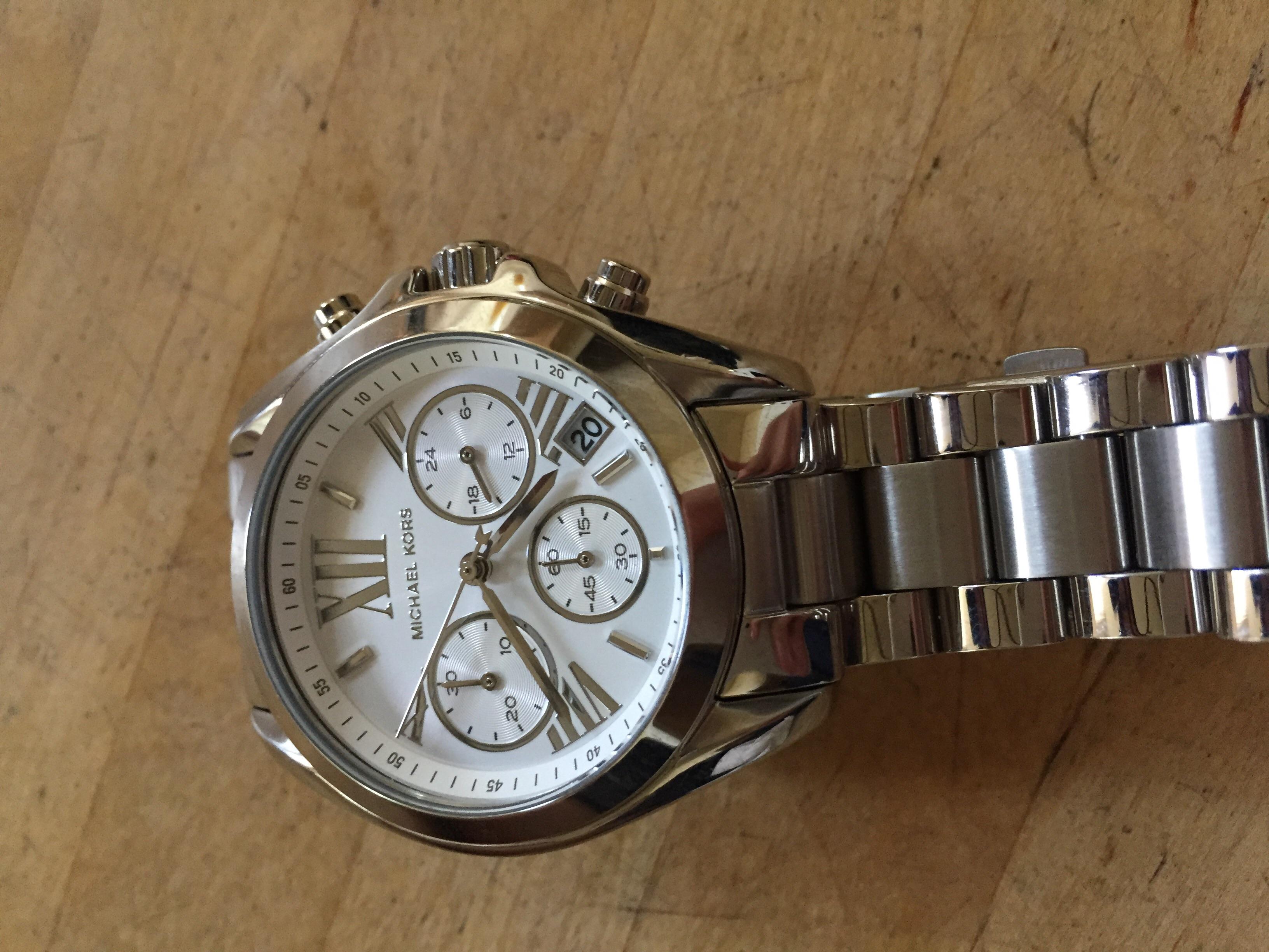 f02dce23ede7 Ladies Michael Kors Bradshaw Chronograph Watch (MK6174)