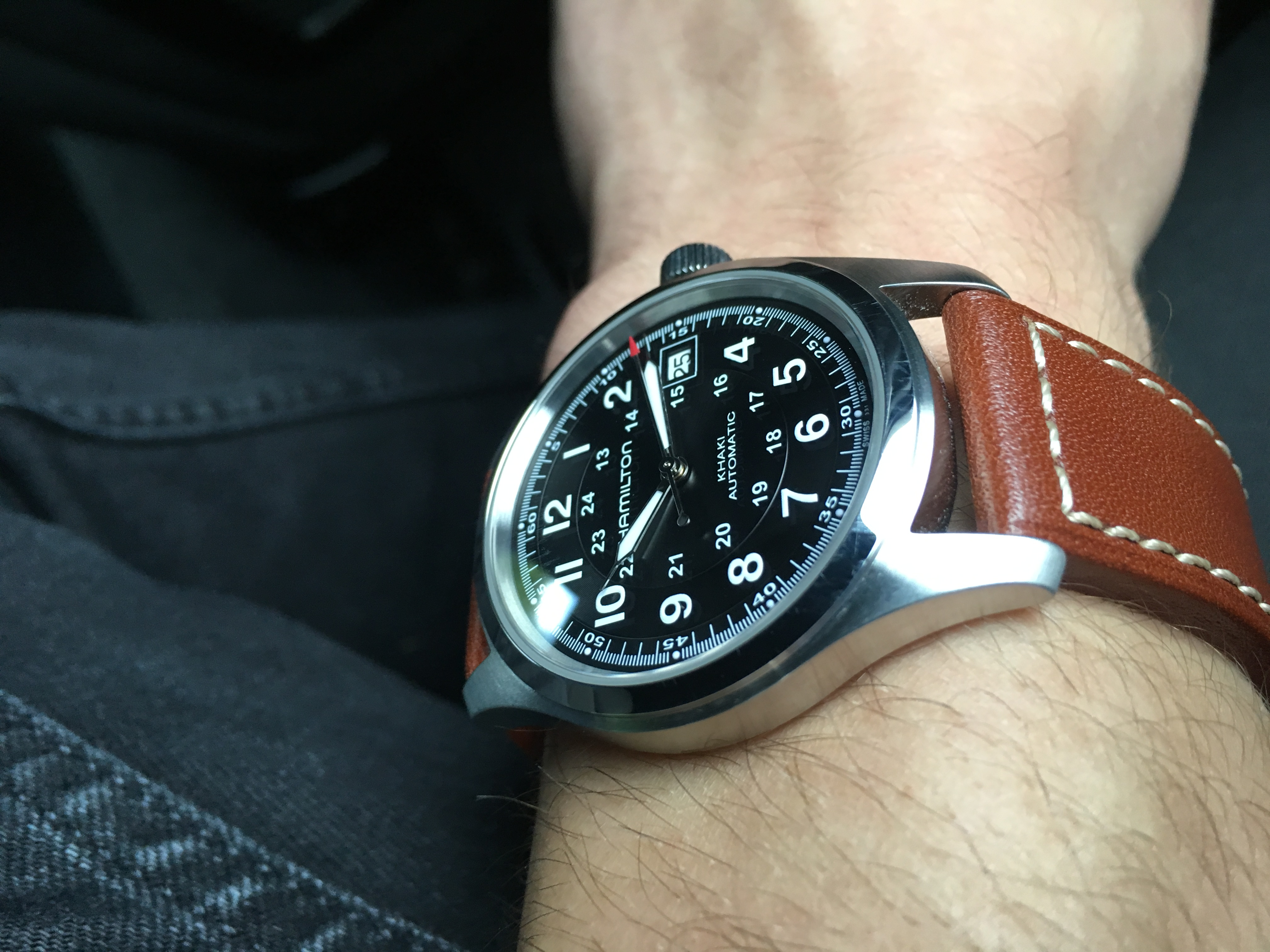 ... Ive ordered watches from them before and there always well packaged and  delivered extremely fast! The Hamilton khaki field automatic ... 79895d4bf9