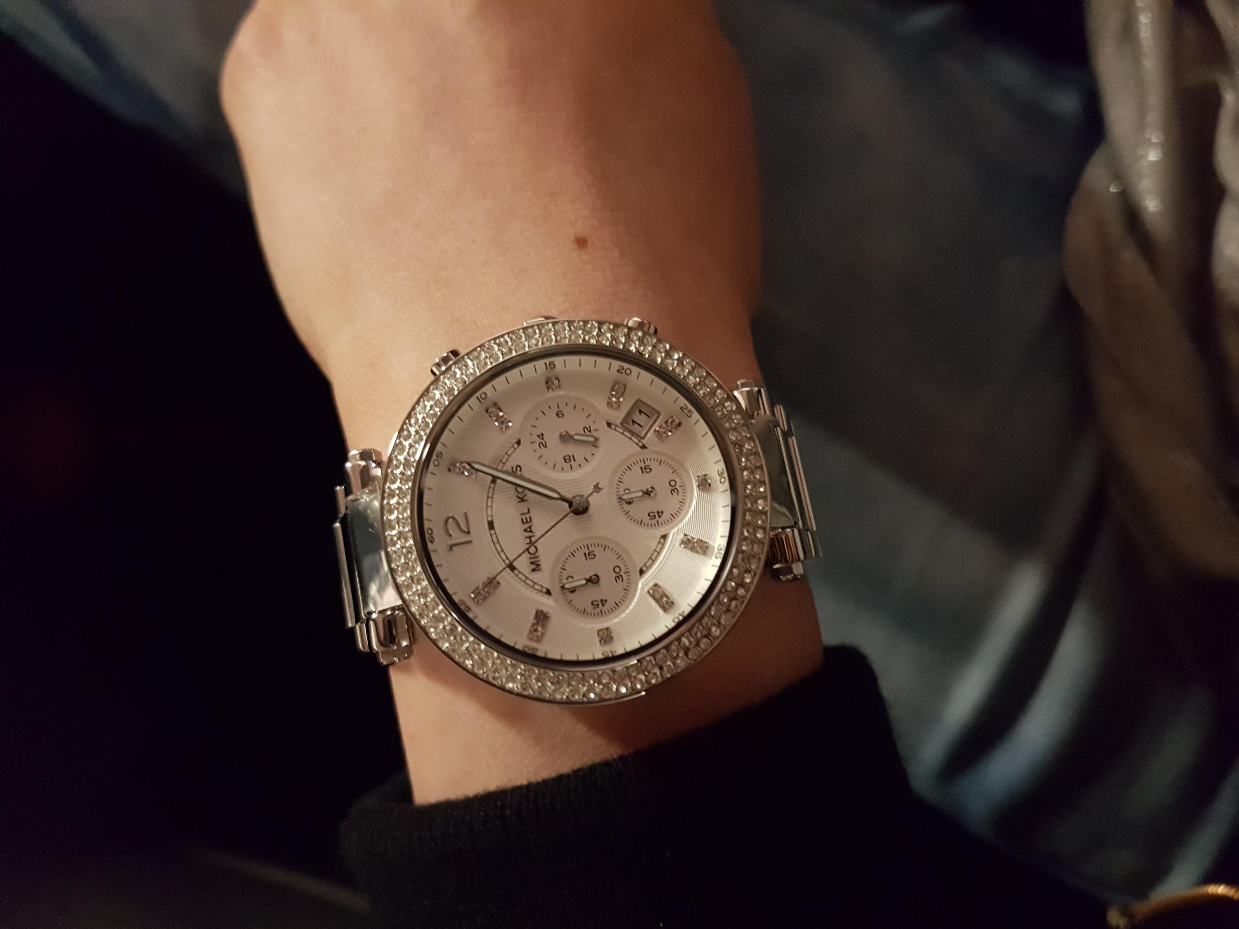2caed9296 Ladies Michael Kors Parker Chronograph Watch (MK5353) | WatchShop.com™