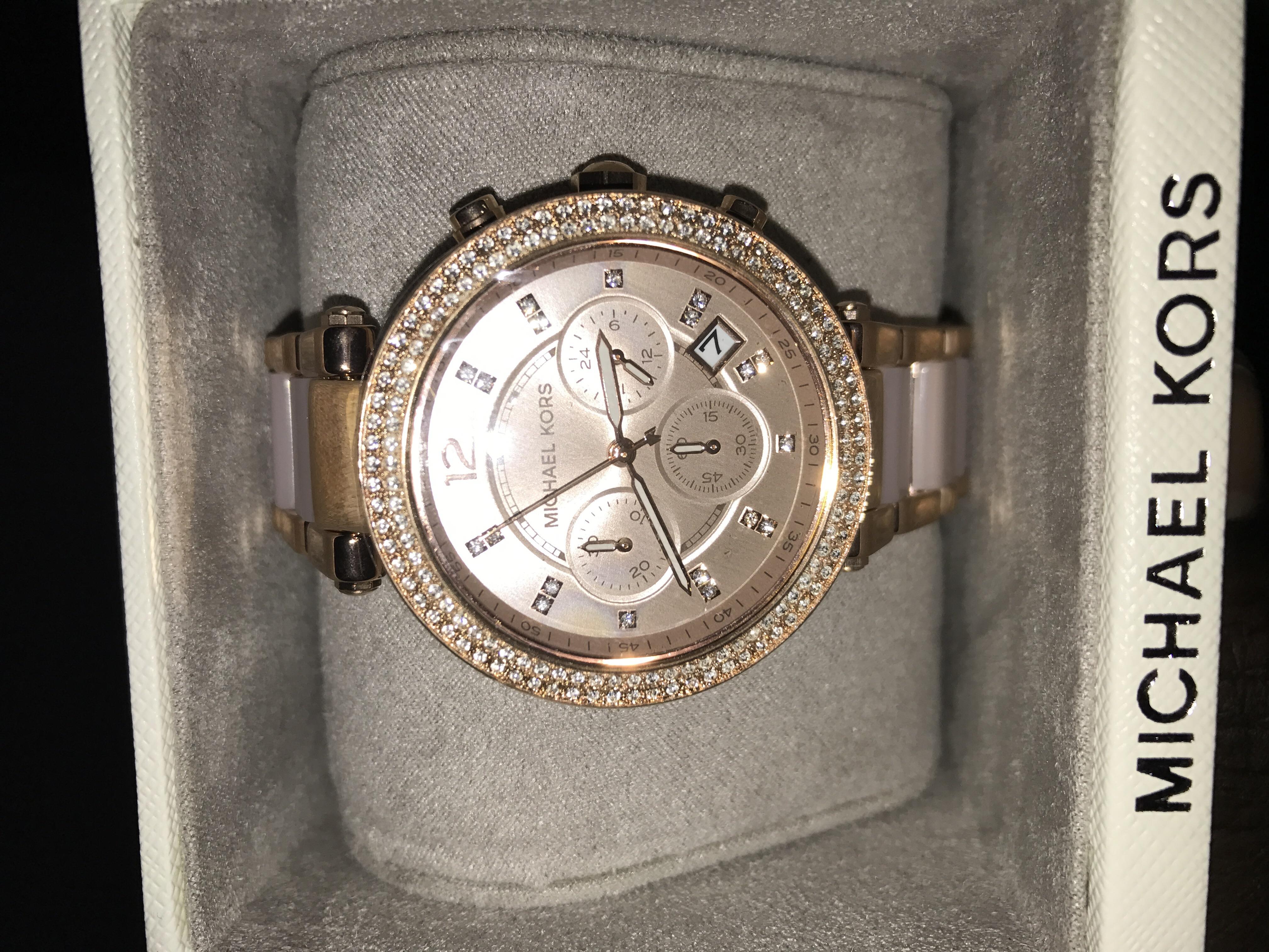 Holiday Gift Idea: Michael Kors Medium Leather Bag $160