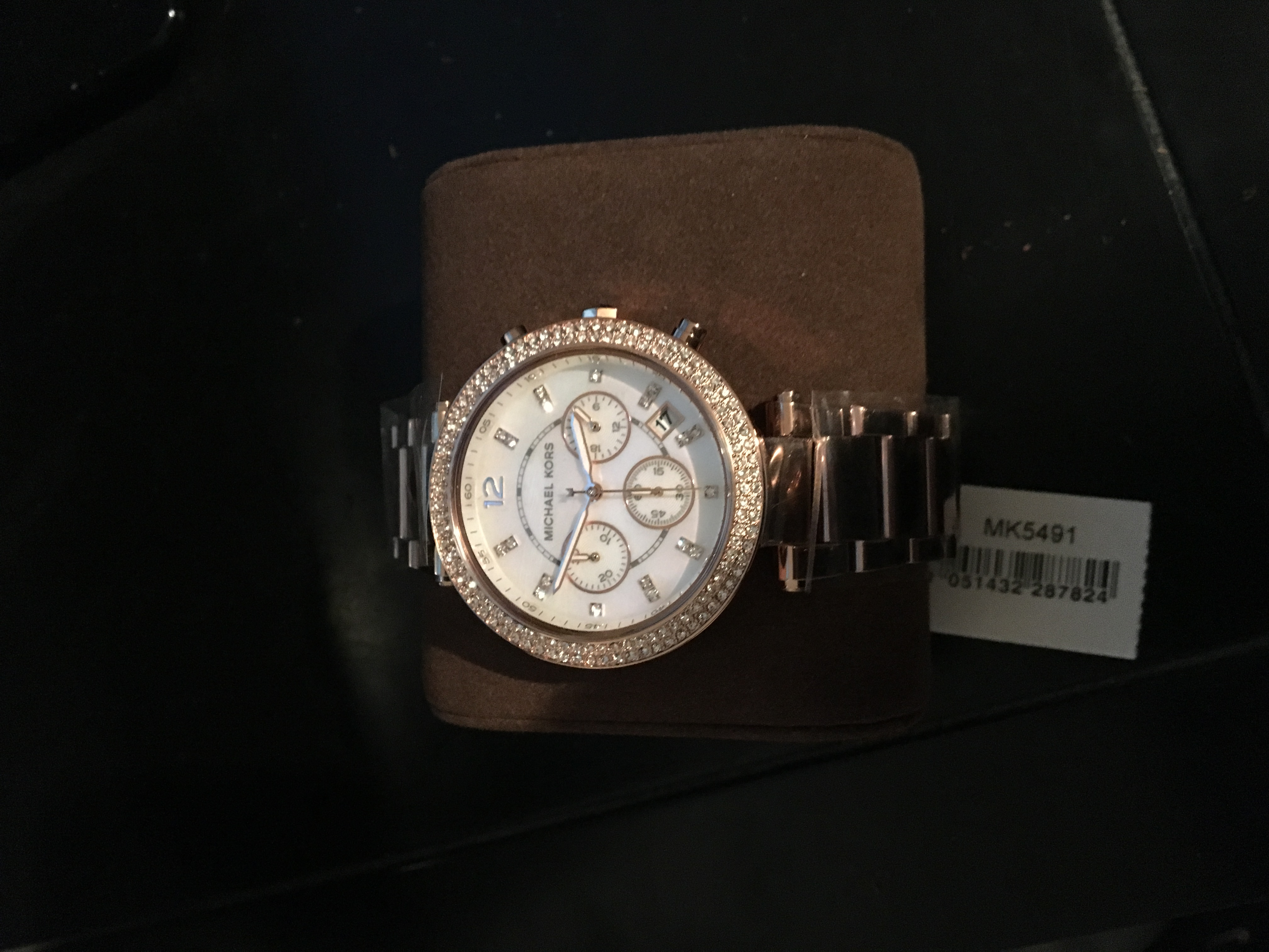 153c3c8db752 Ladies Michael Kors Parker Chronograph Watch (MK5491)