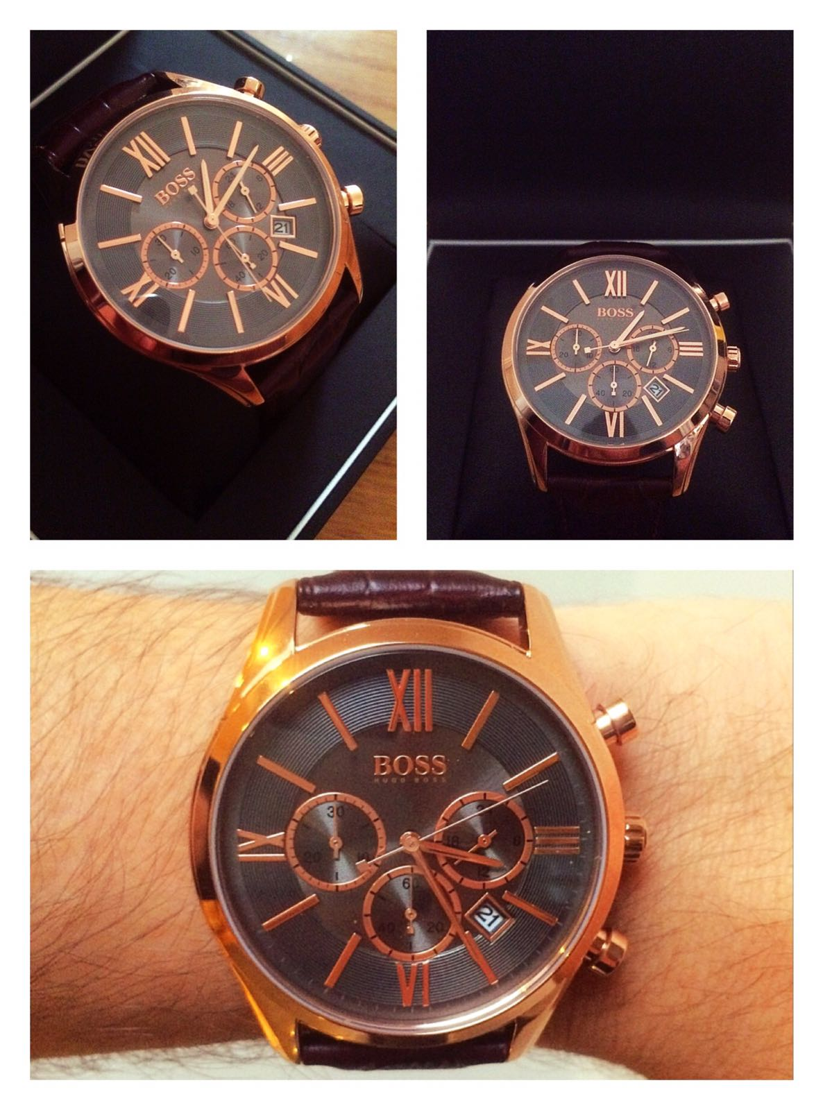 764c9748f I bought this watch for my boyfriend for Christmas. He is extremely picky  about anything relating to fashion and I was quite worried about choosing a  watch ...
