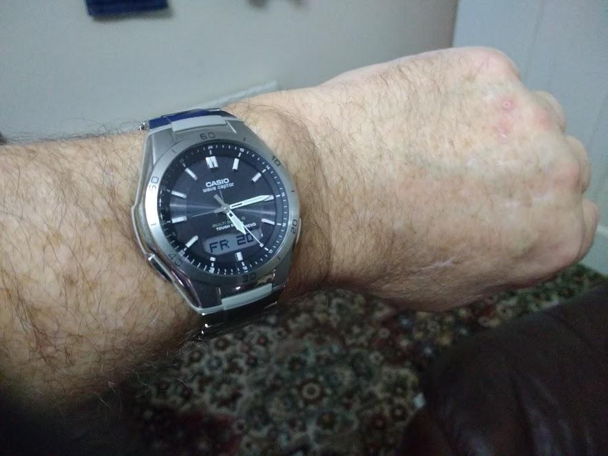 3a6bb3150020c Zegarek męski Casio | Waveceptor WVA-M640TD-1AER | PL | Watch Shop™