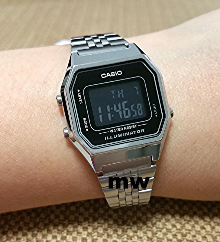 Unisex Casio Classic Alarm Chronograph Watch  La680wea