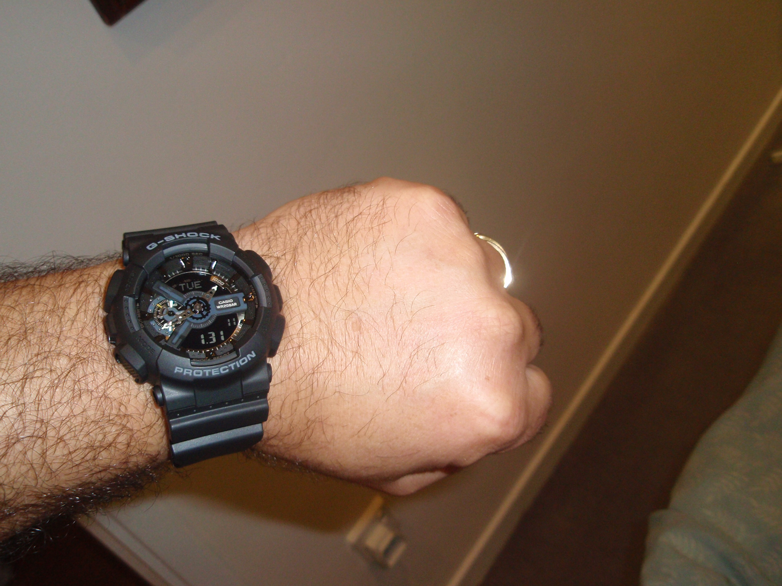 Gents Casio G-Shock Hyper Complex Alarm Chronograph Watch (GA-110 ... 3eef76c1a425