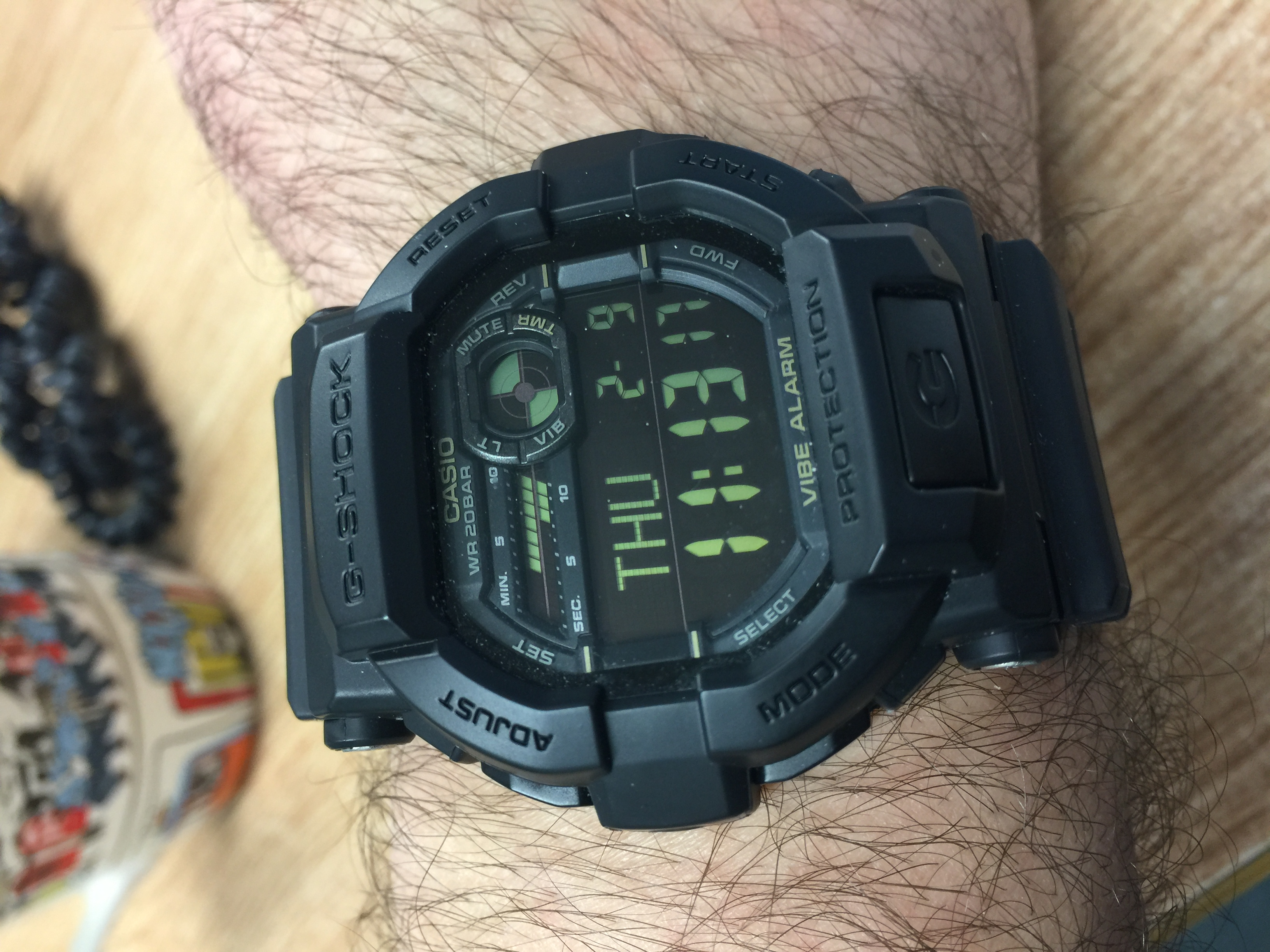 shock wrist on week watches gst g a casio img the wristwatch review