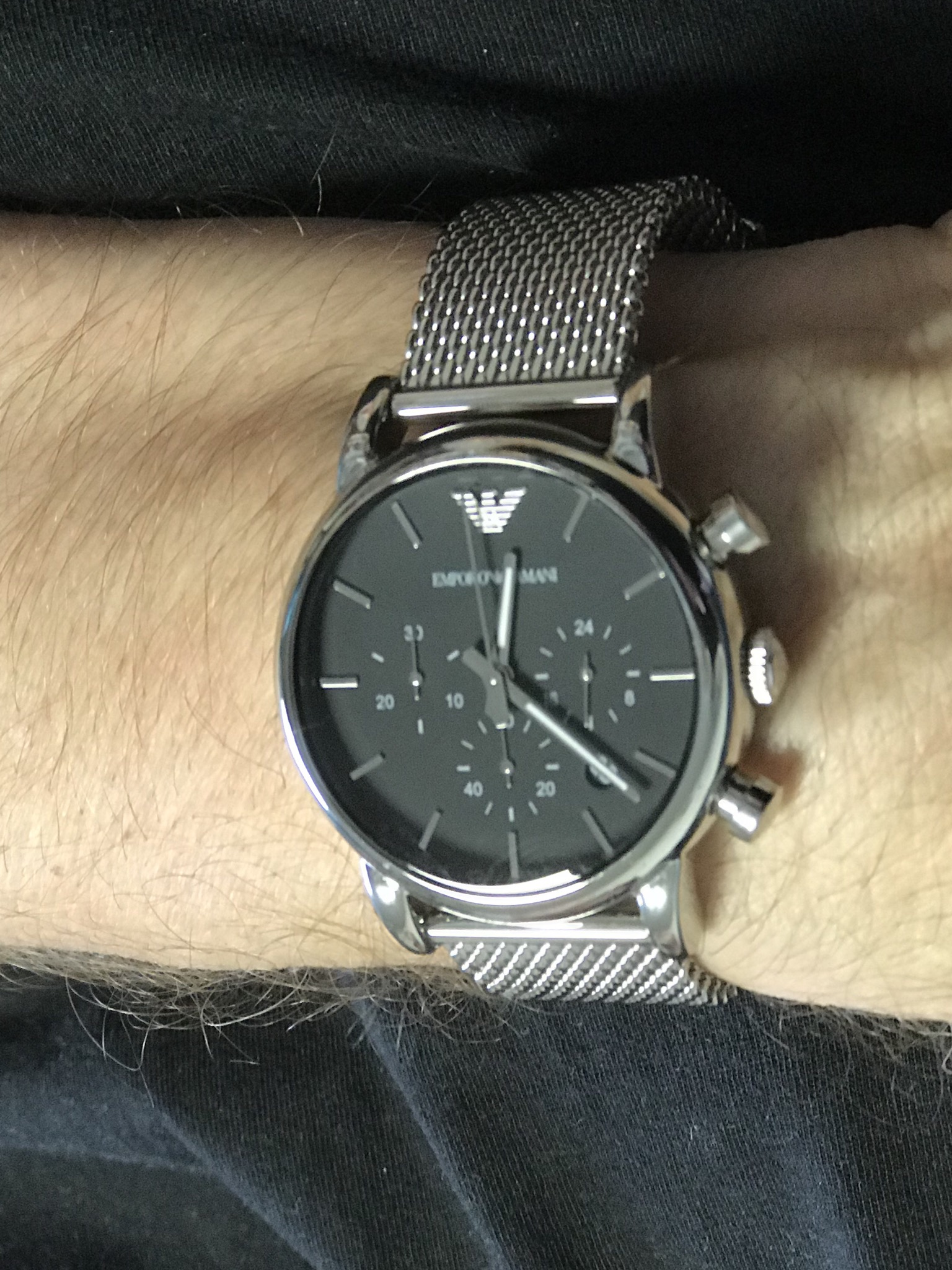 891260e3131 Gents Emporio Armani Chronograph Watch (AR1811)