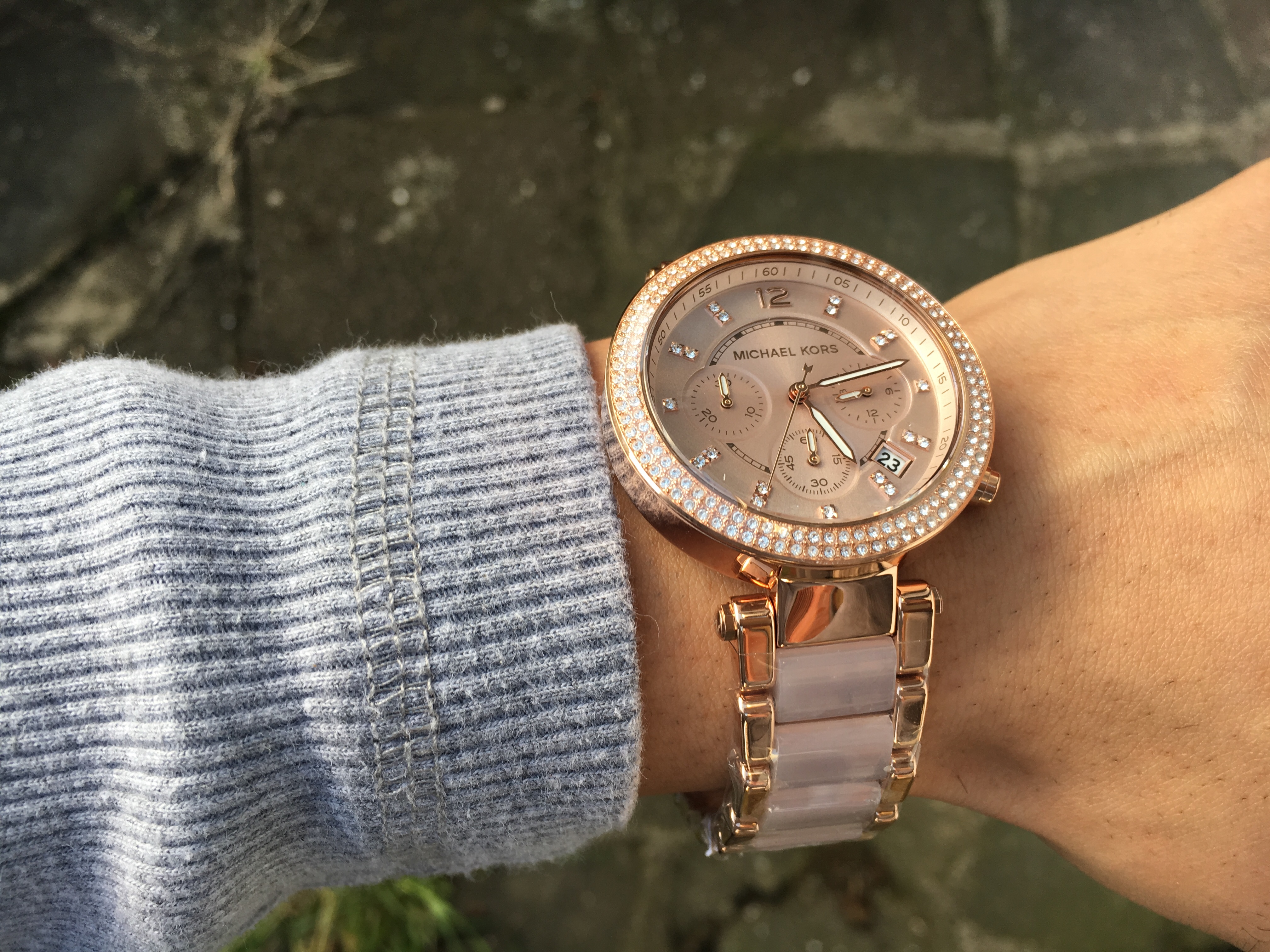 a449cd69854 I spent some time trying to find the perfect watch. I knew I wanted a Michael  Kors watch but we are spoilt for choice as there are so many variants but  in ...