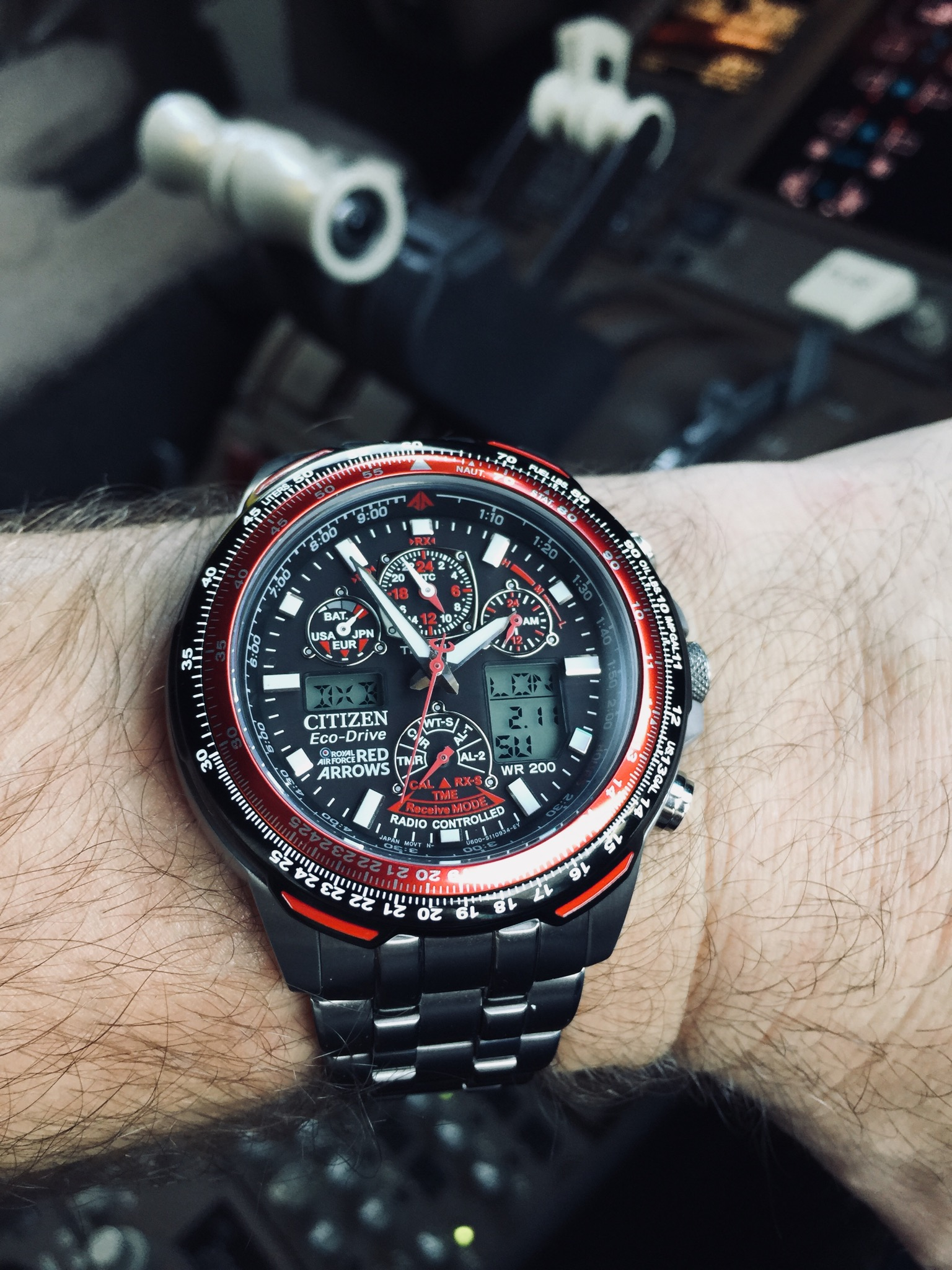 f4778cc7d5c9c Ive been an airline pilot for over 10 years and Ive never had a watch as  good as the Citizen Skyhawk A-T. It looks stunning with its lightweight  titanium ...
