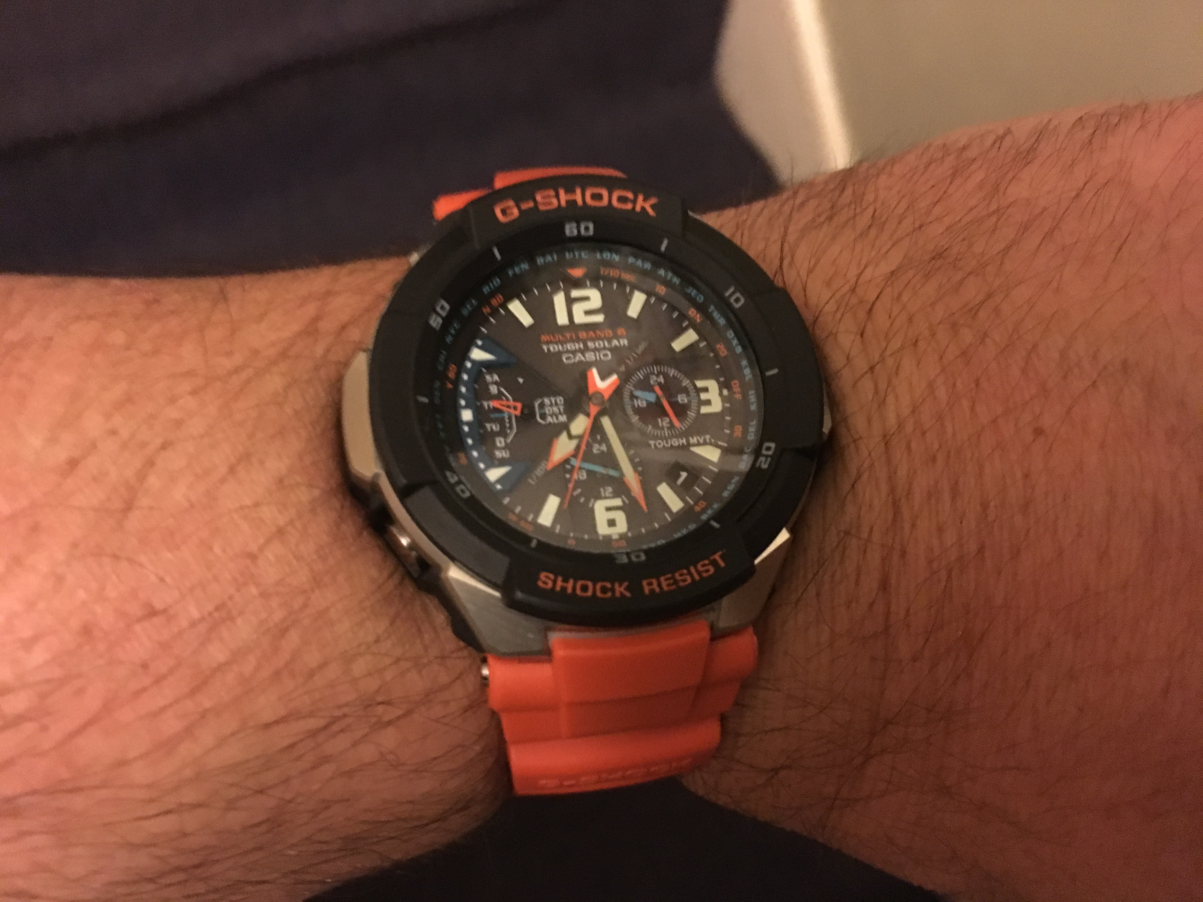 As an international traveller this watch exceeds all my expectations. It's  not only a great timepiece but a treat to the eye.