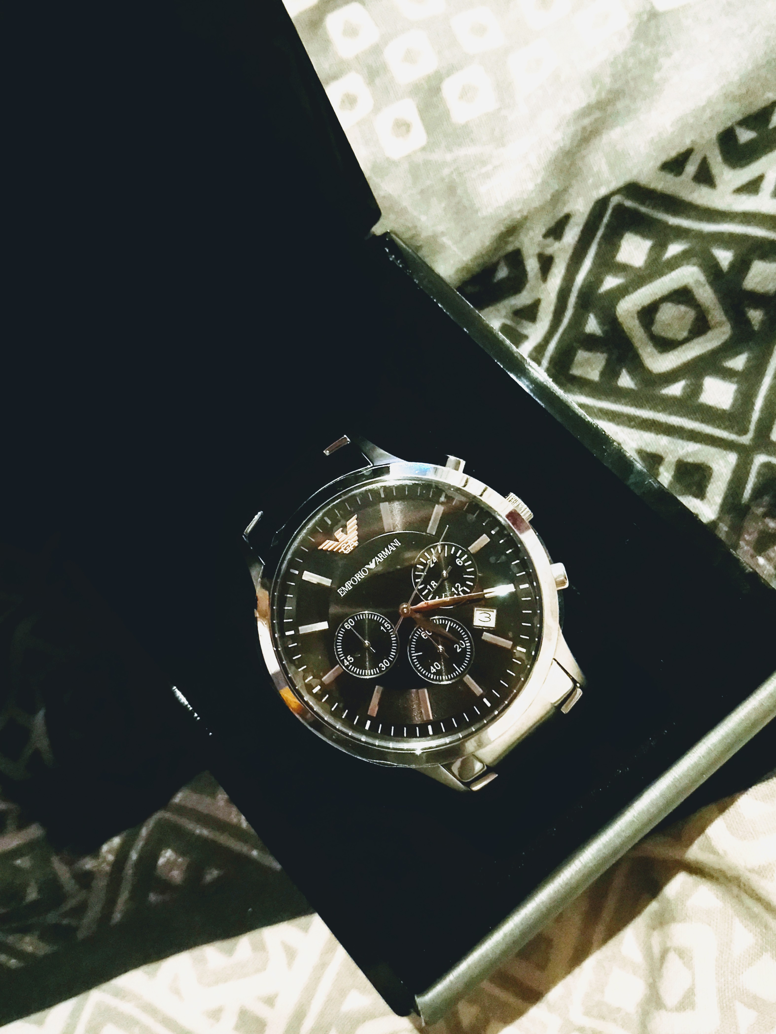 e13adf918b00 Gents Emporio Armani Chronograph Watch (AR2434)