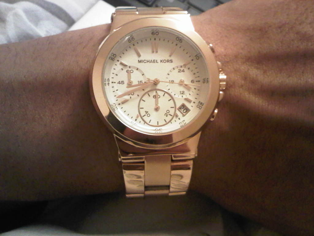 683cddc7799d Ladies Michael Kors Chronograph Watch (MK5223)