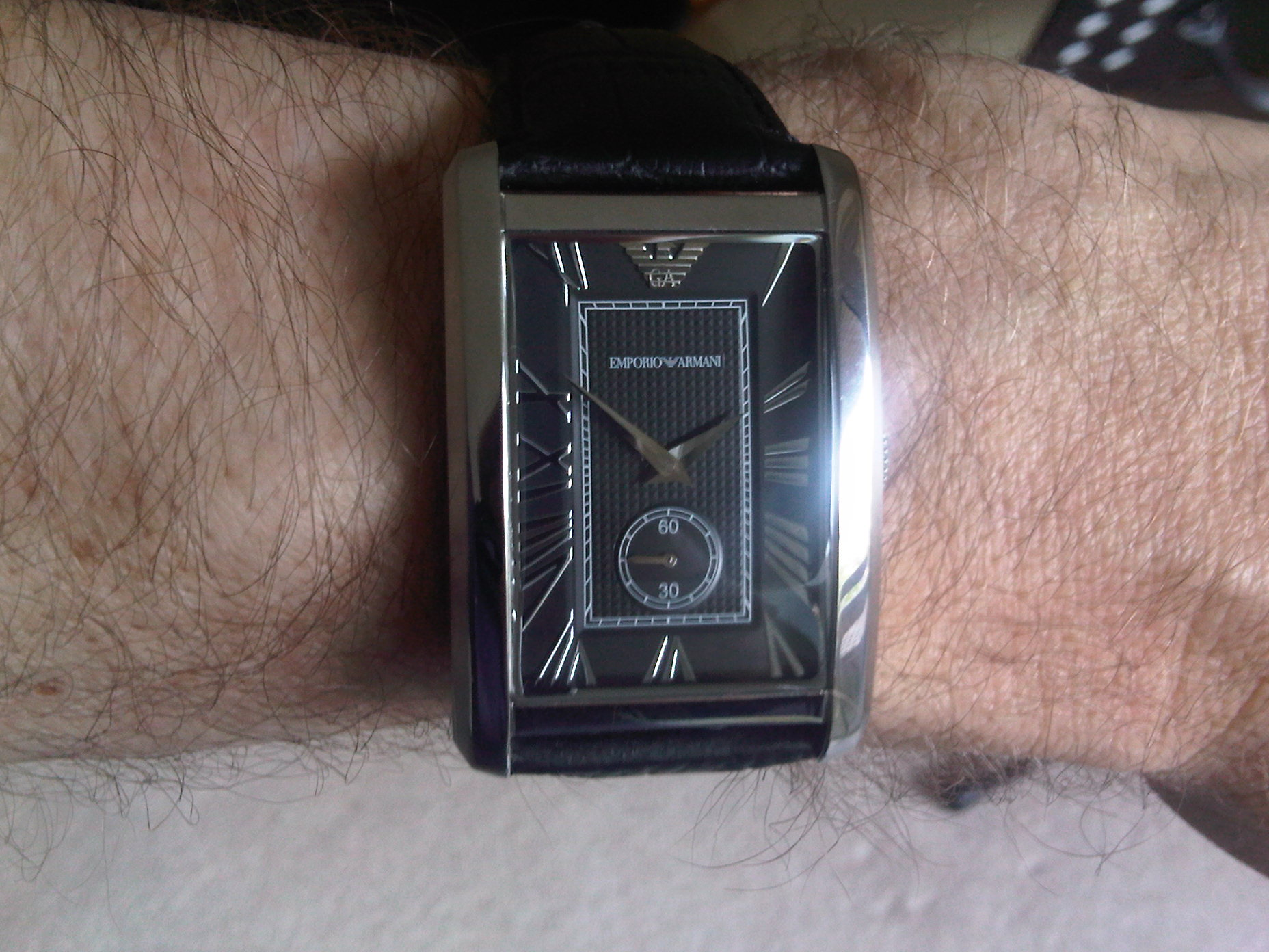 8636452882c I always wear Armani suits and this is the watch Ive long been looking for  to complement them. I love the elegant 1930s looks