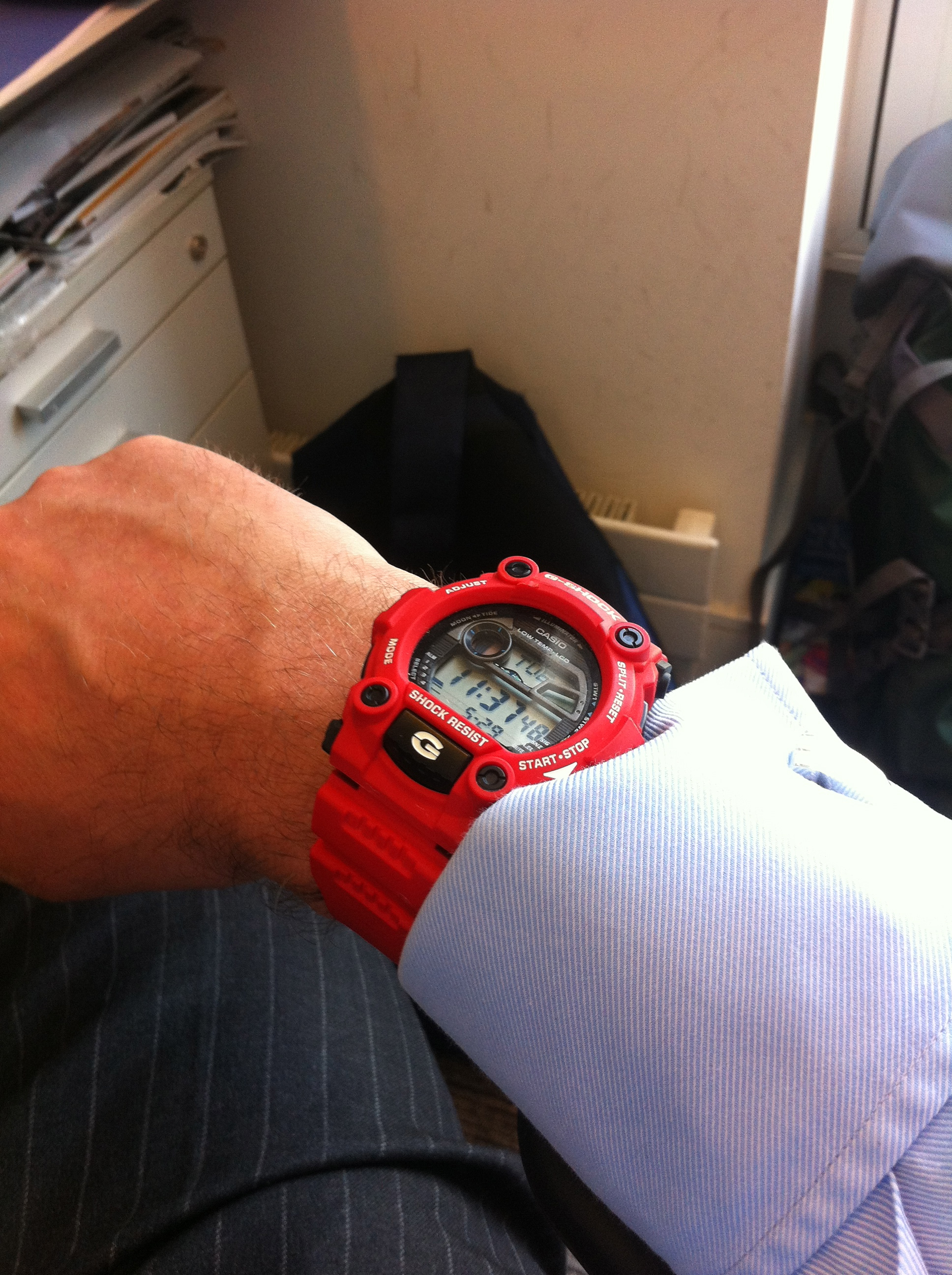 f0a9c534bad5 Gents Casio G-Shock G-Rescue Alarm Chronograph Watch (G-7900A-4ER ...