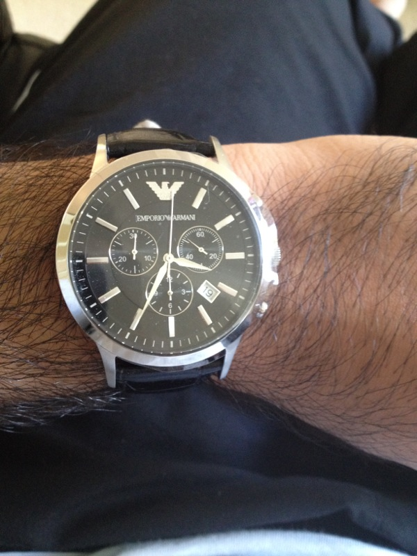 Gents Emporio Armani Chronograph Watch (AR2447)  100d578b1