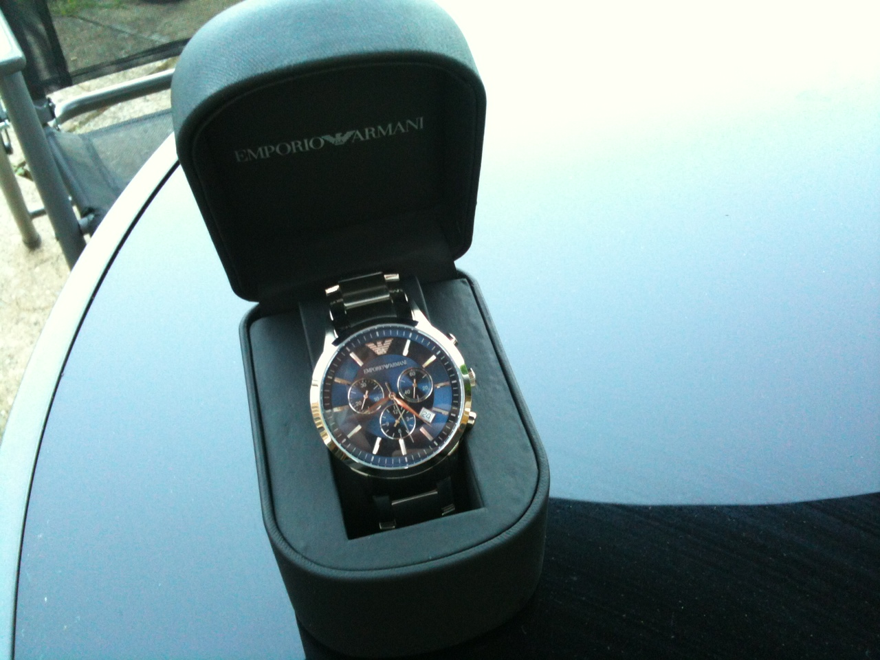 13ef3cd3d649 Gents Emporio Armani Chronograph Watch (AR2448)