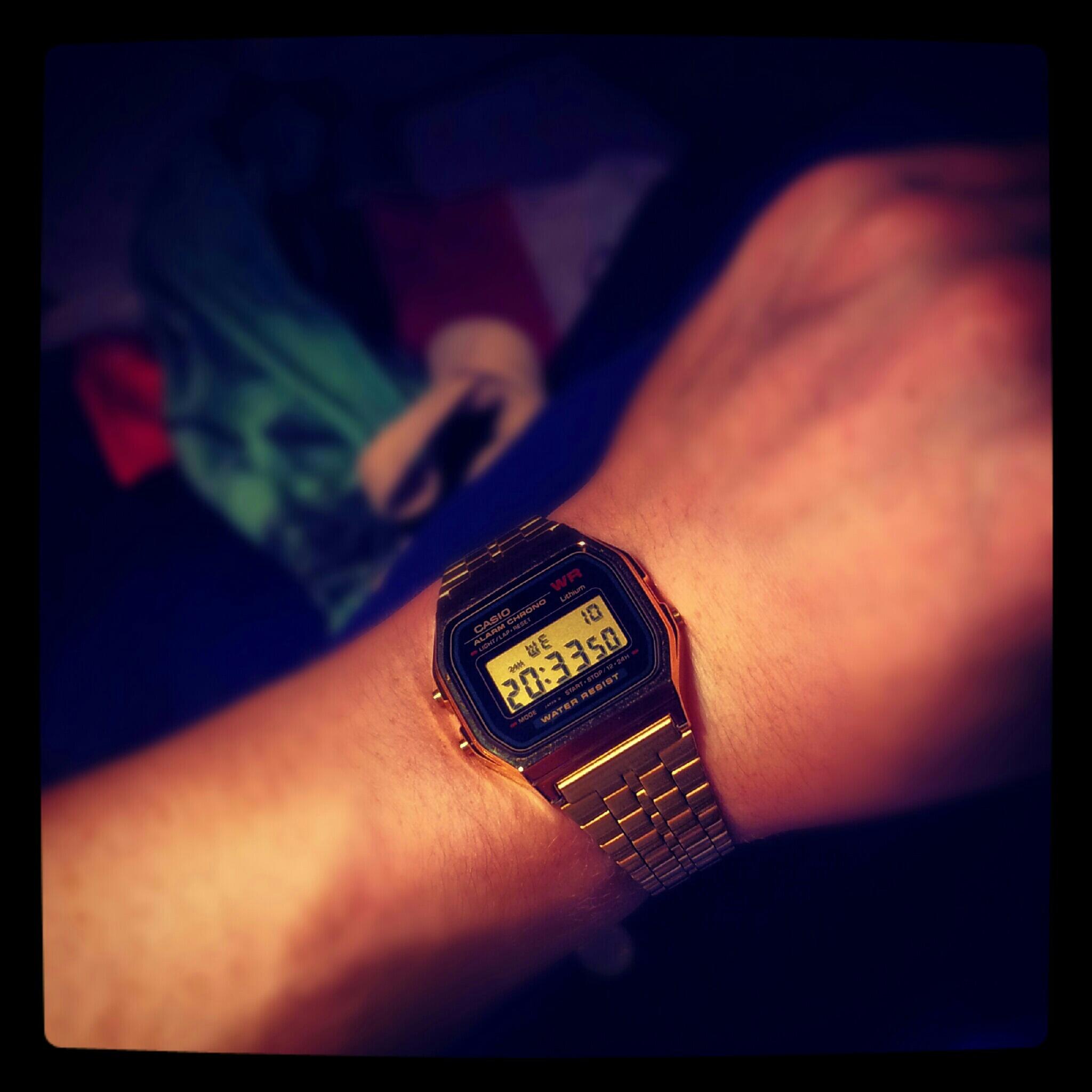 4265efe8b44 Unisex Casio Classic Alarm Chronograph Watch (A159WGEA-1EF ...