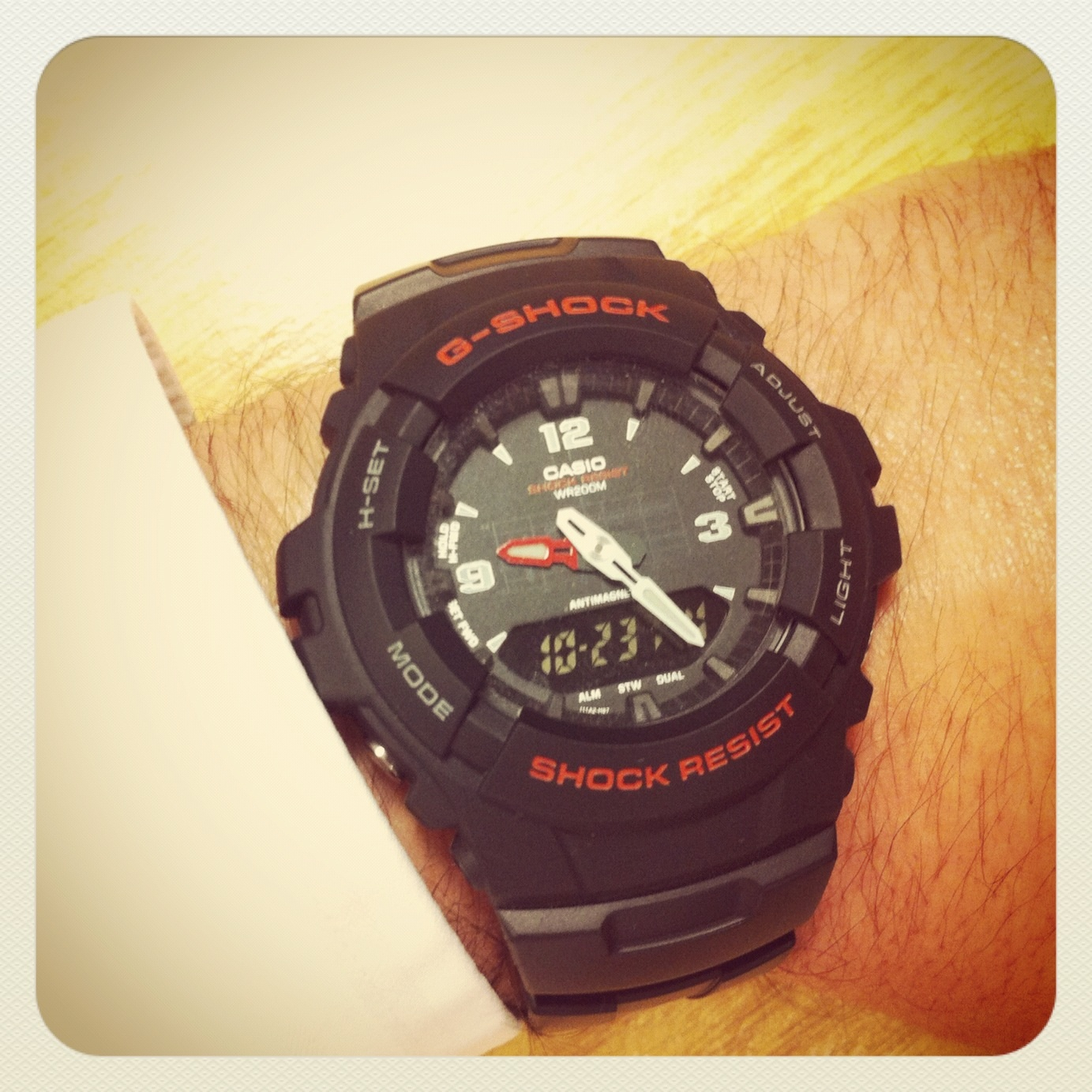 9fdb1ee7e0d8 Casio G-Shock Antimagnetic