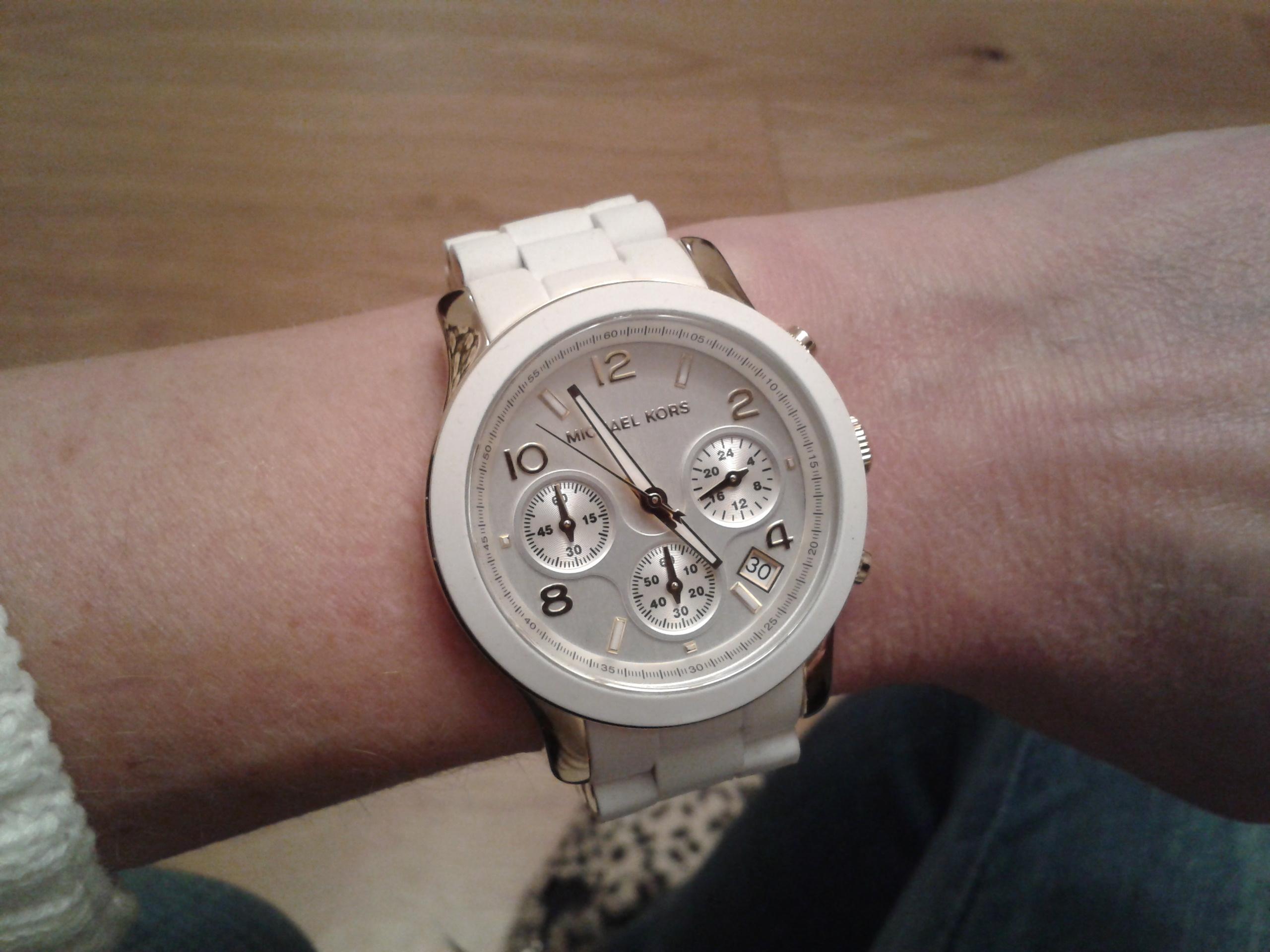 6289e91f9978 Ladies Michael Kors Runway Chronograph Watch (MK5145)