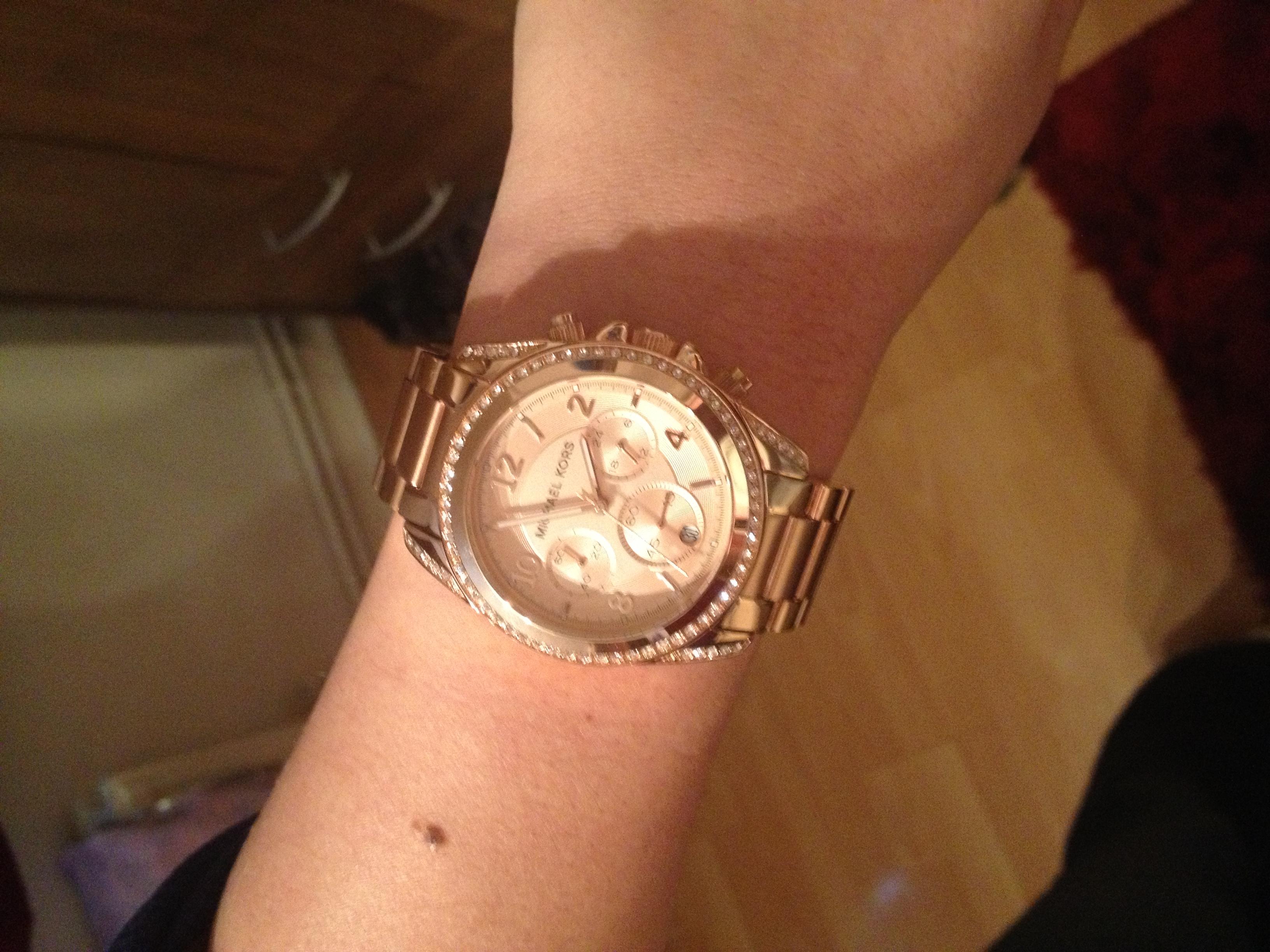 445074db463e Ladies Michael Kors Blair Chronograph Watch (MK5263)
