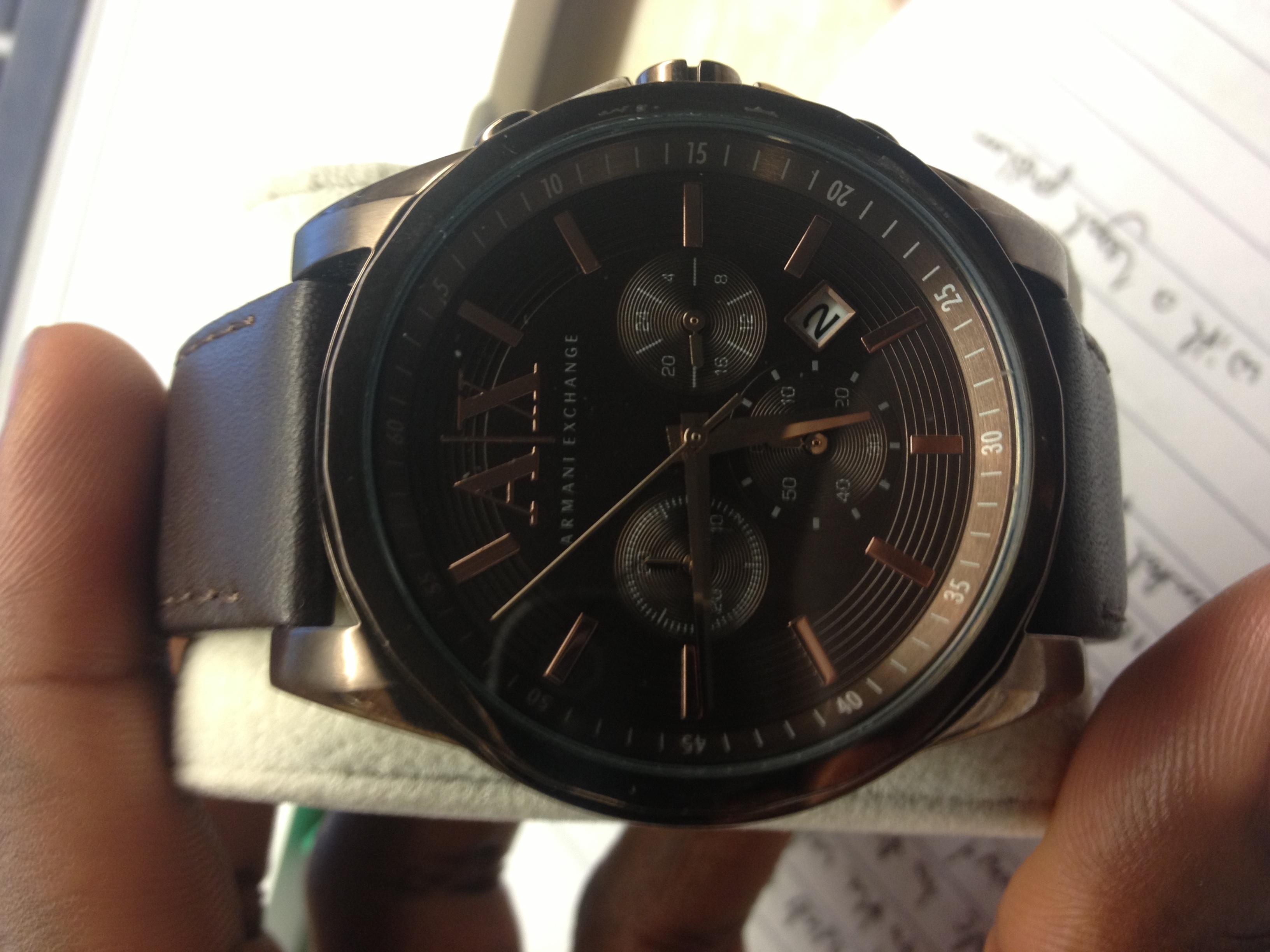 4732dbad5 Gents Armani Exchange Chronograph Watch (AX2090) | WatchShop.com™
