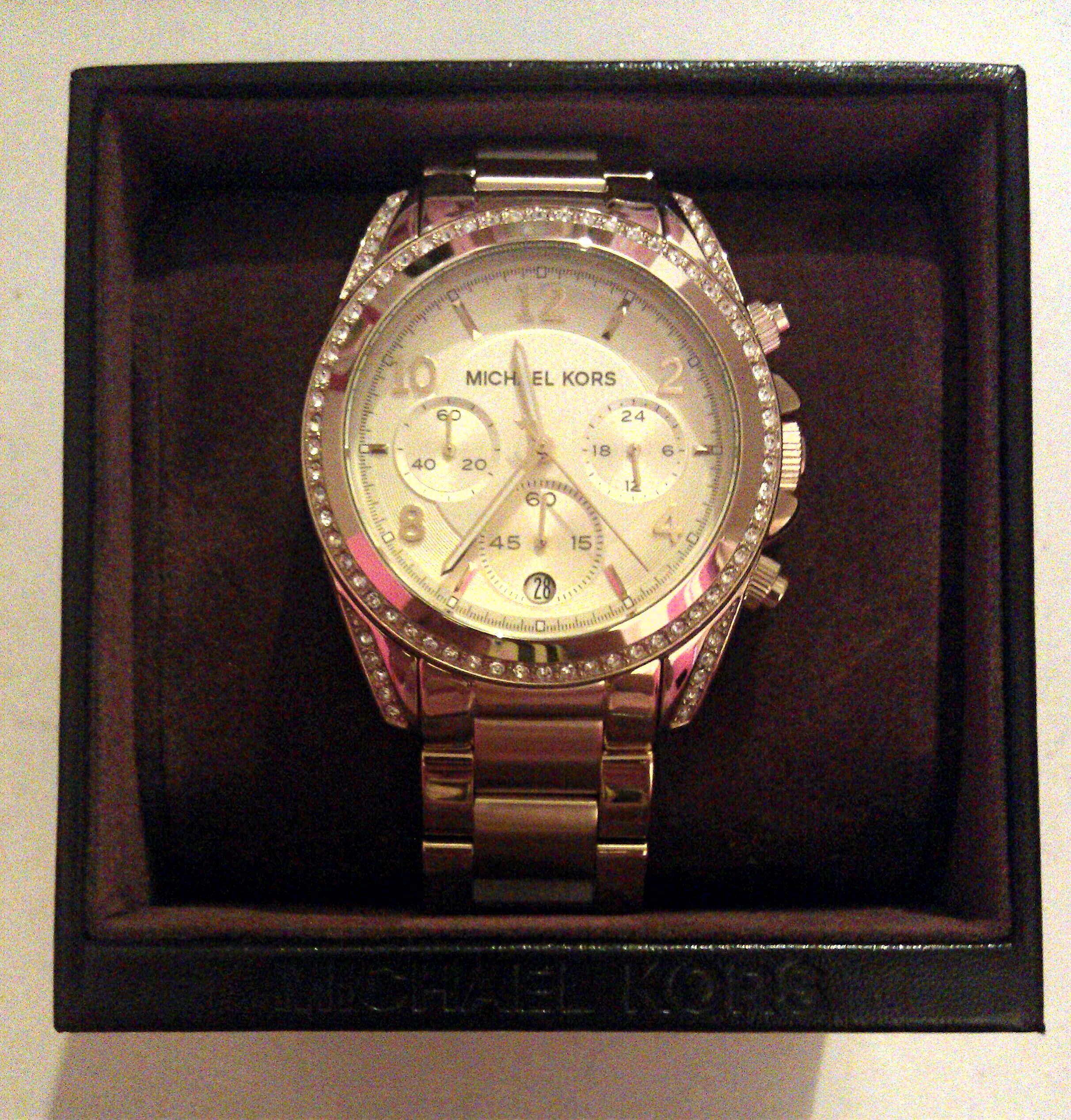 3b103a3f60c6 Ladies Michael Kors Blair Chronograph Watch (MK5166)