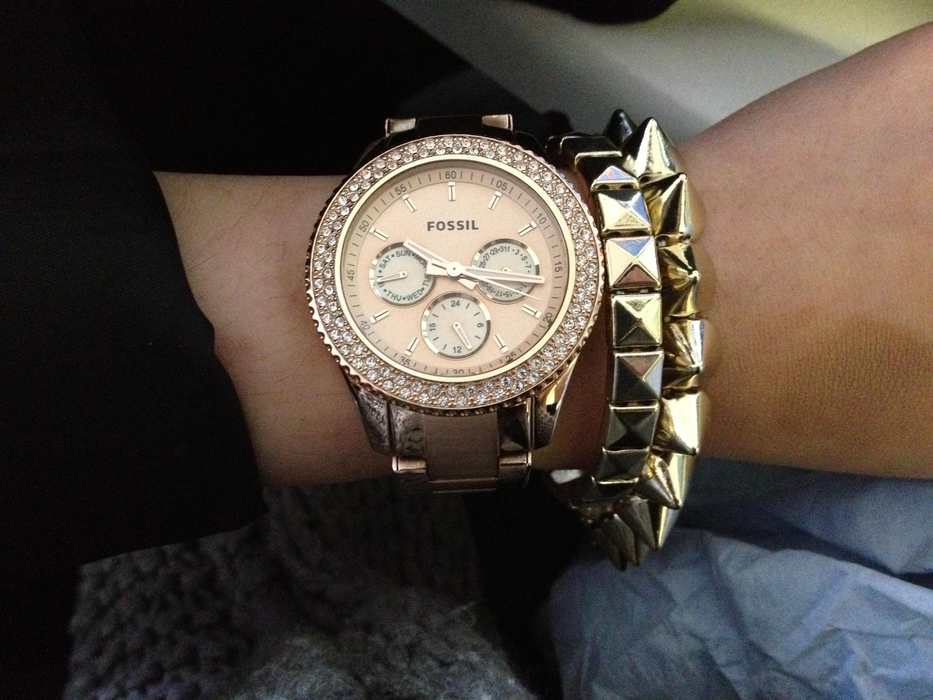 ladies fossil stella watch es3003 watchshopcom�