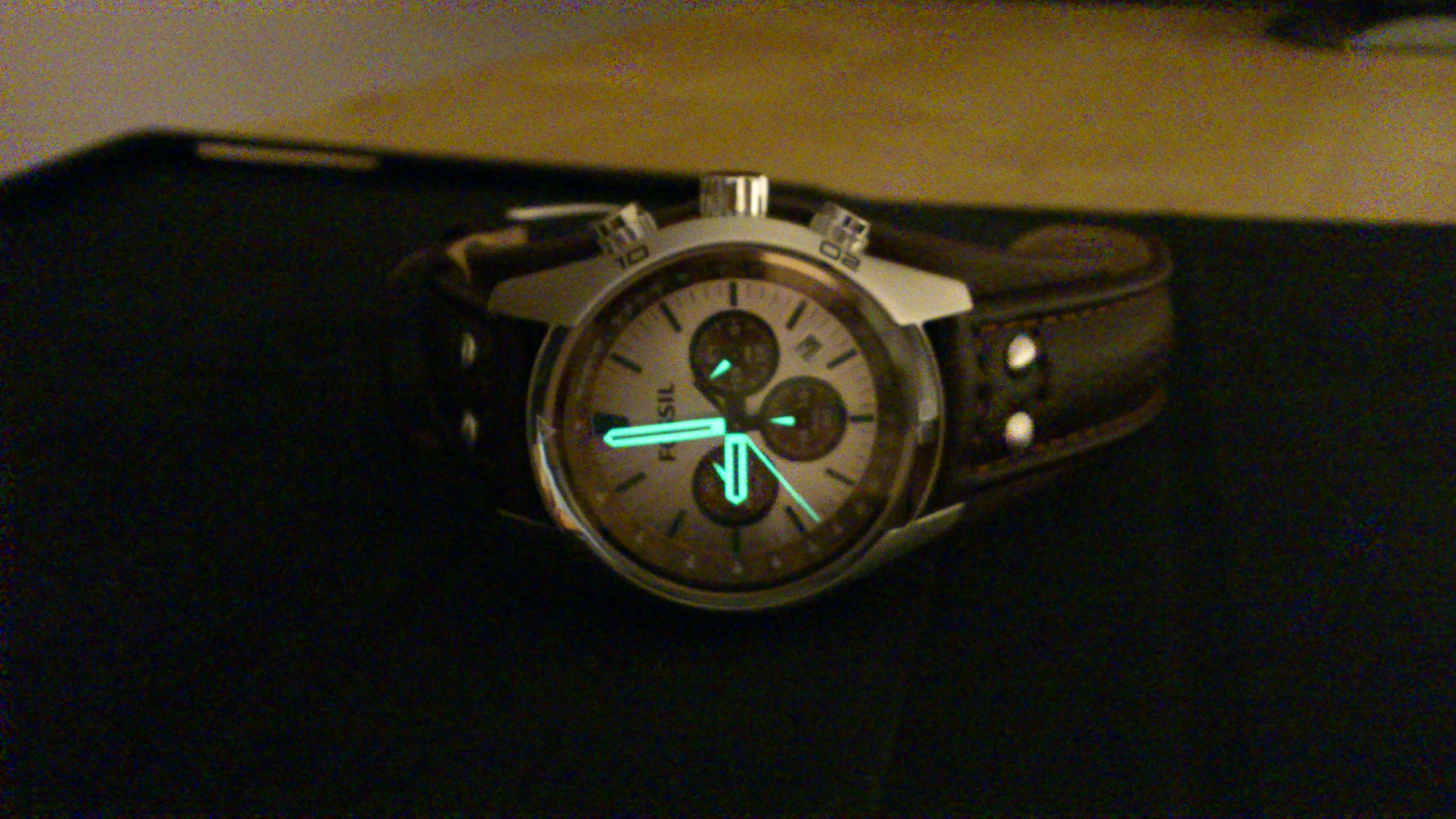 a499b5d17 Perfect manufactured watch with very nice leather cuff strap. Wanted to  change my previous Diesel watch for casual wear and this was the RIGHT  choice.