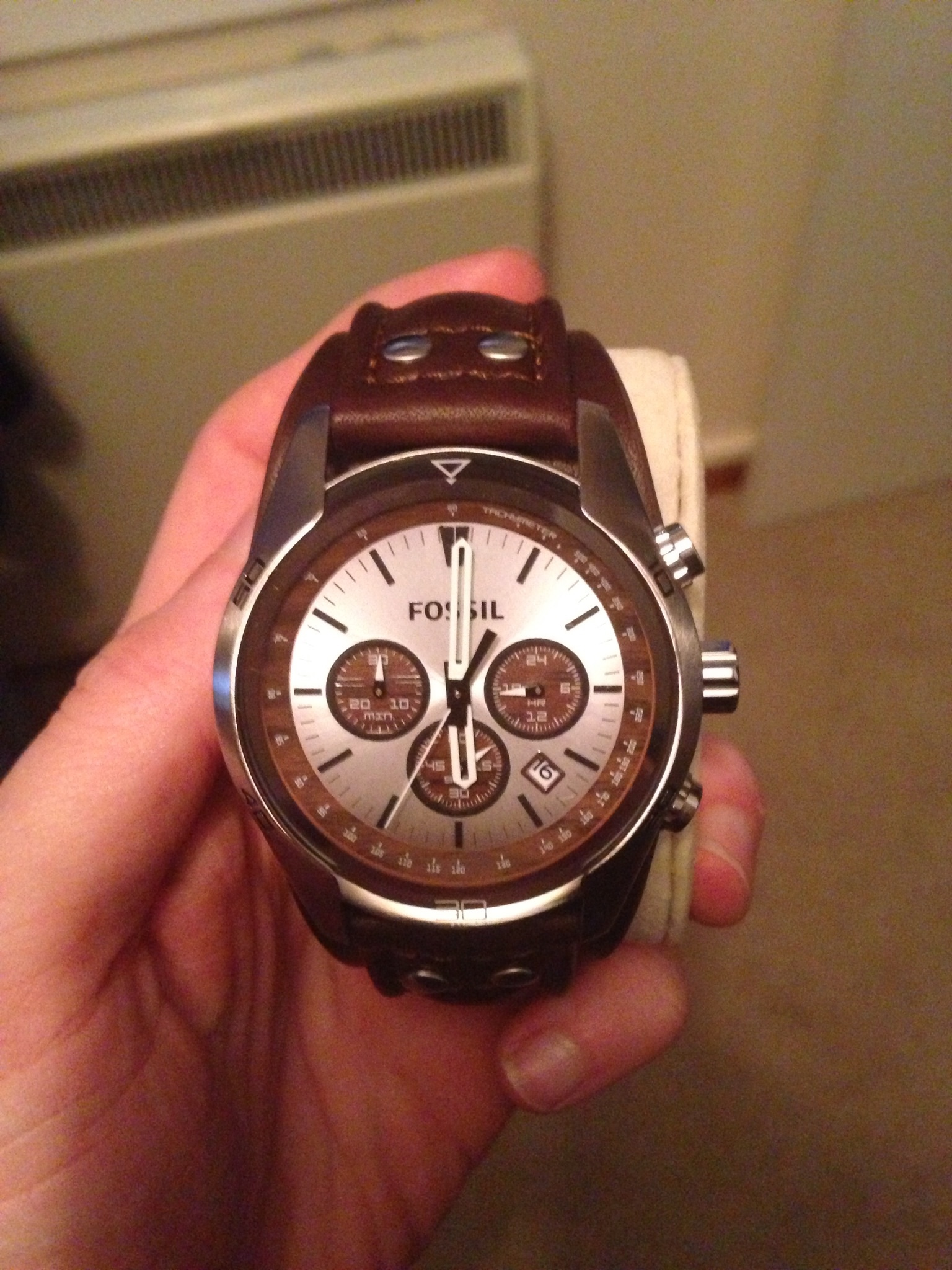 chronograph sport fossil watch watches grant