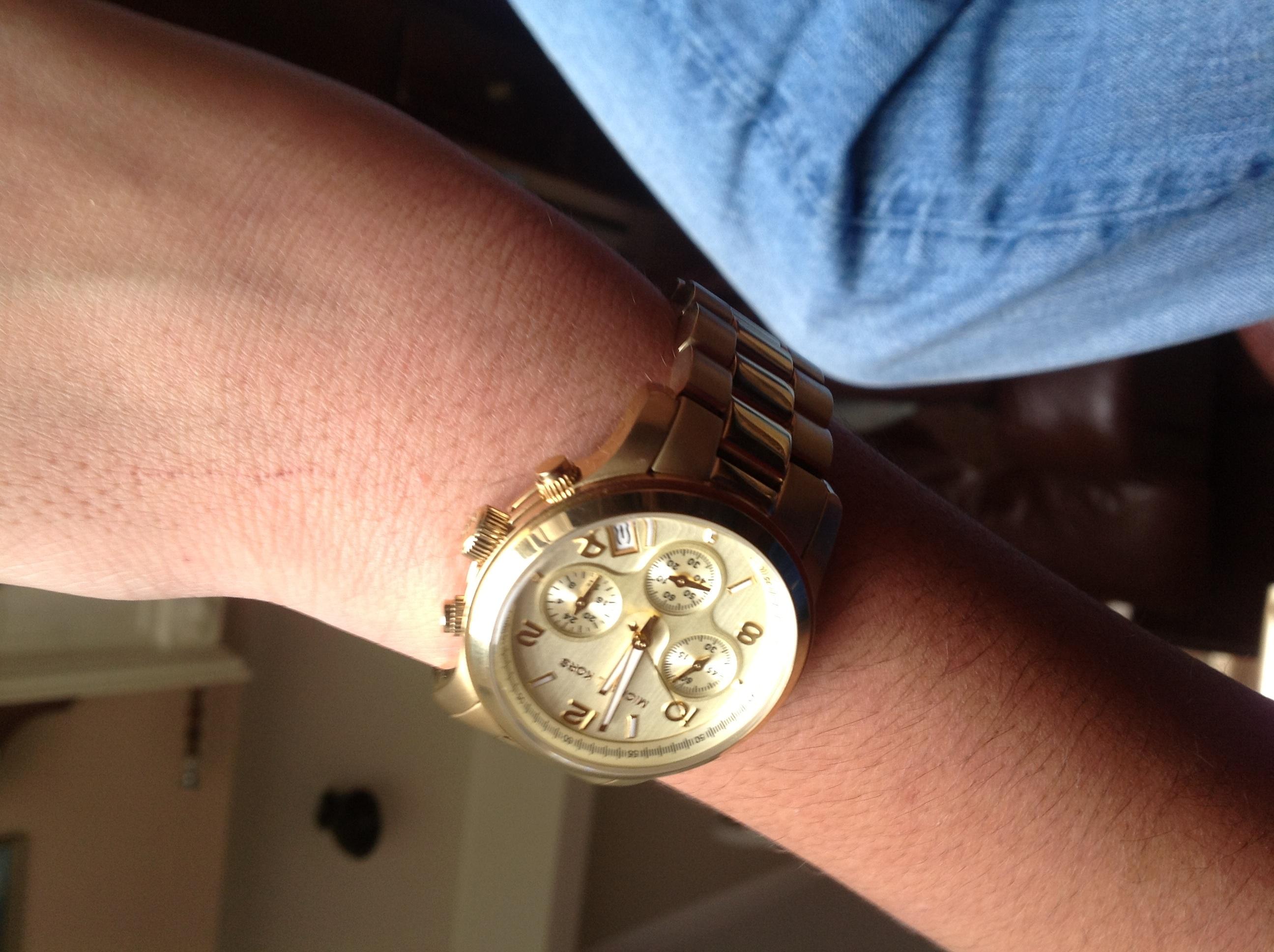 536ee078059 Ladies Michael Kors Runway Chronograph Watch (MK5055)