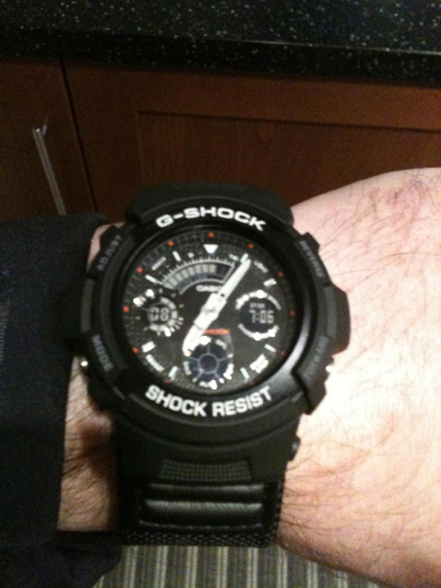 eb905ec3f2bb Gents Casio G-Shock Alarm Chronograph Watch (AW-591MS-1AER ...