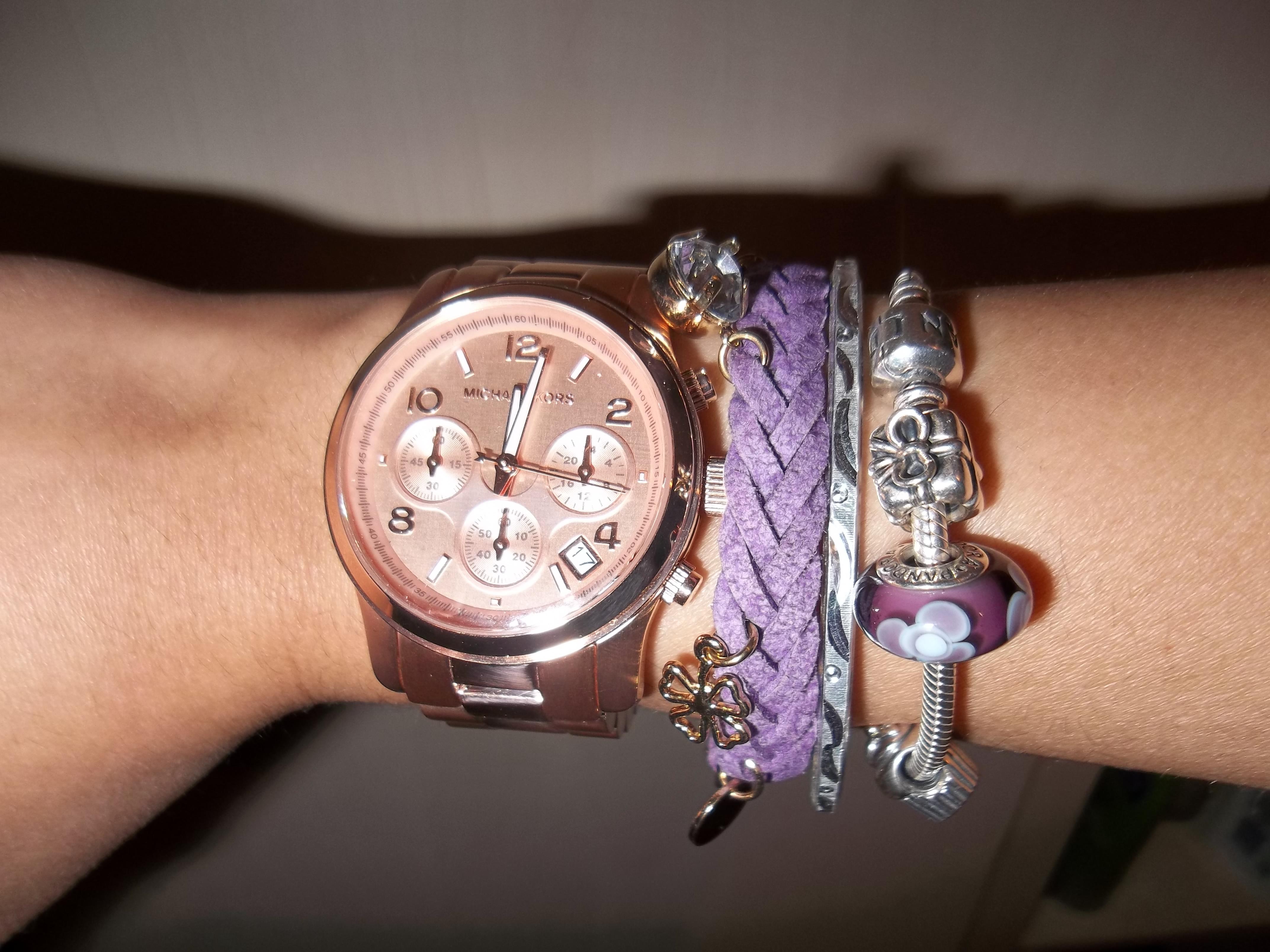 caec3026d0b2 Ladies Michael Kors Runway Chronograph Watch (MK5128)