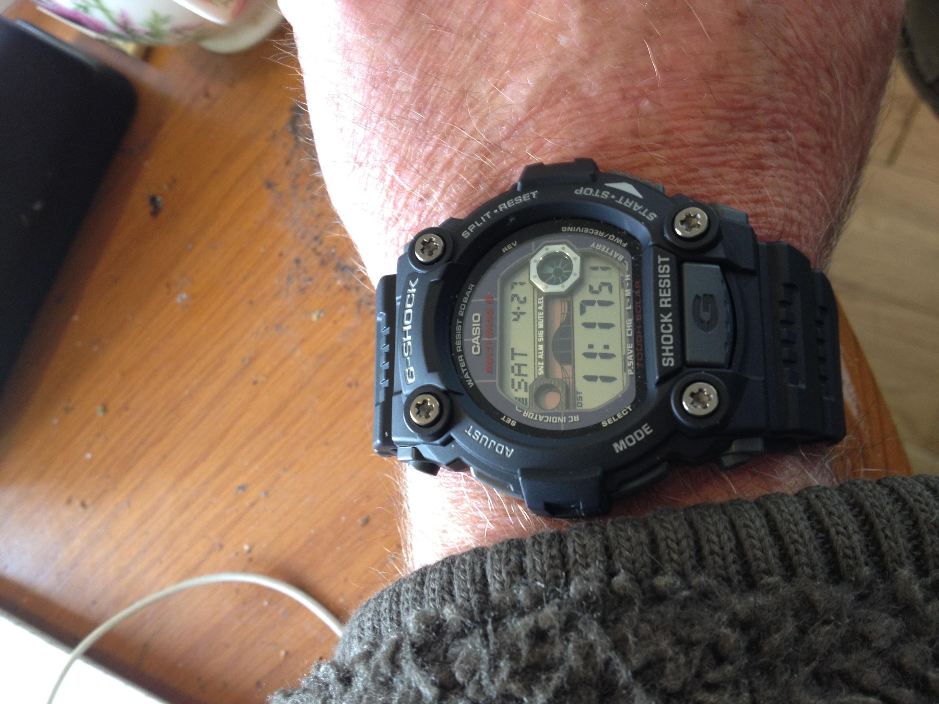 d38c76d0efc9 Gents Casio G-Shock G-Rescue Alarm Chronograph Watch (GW-7900-1ER ...