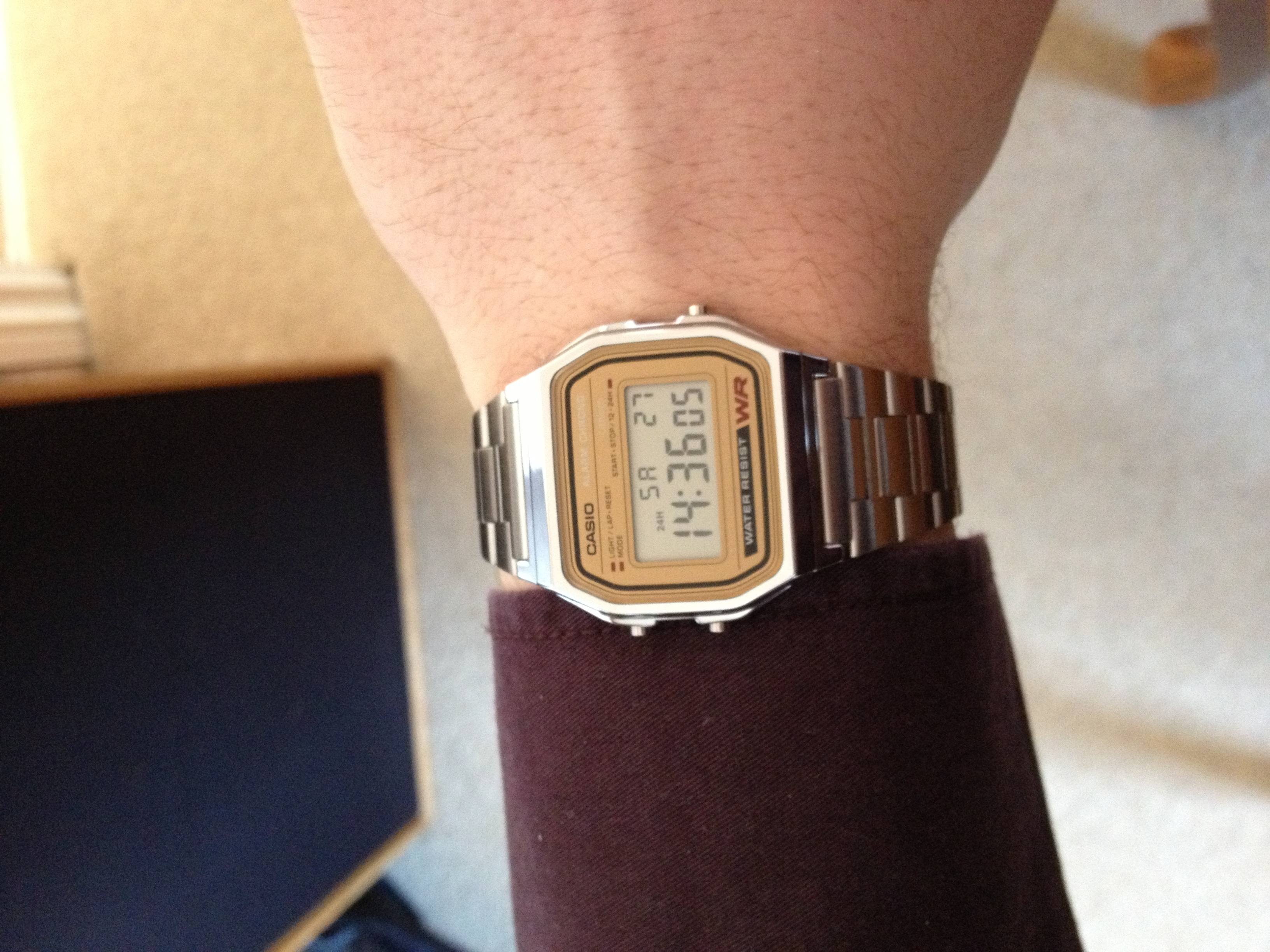 e90a307b890 Unisex Casio Classic Alarm Chronograph Watch (A158WEA-9EF ...